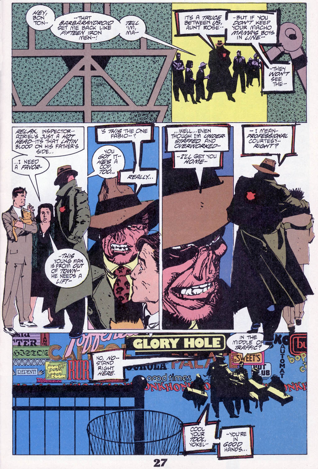 Read online American Flagg! comic -  Issue # _Special 1 - 29