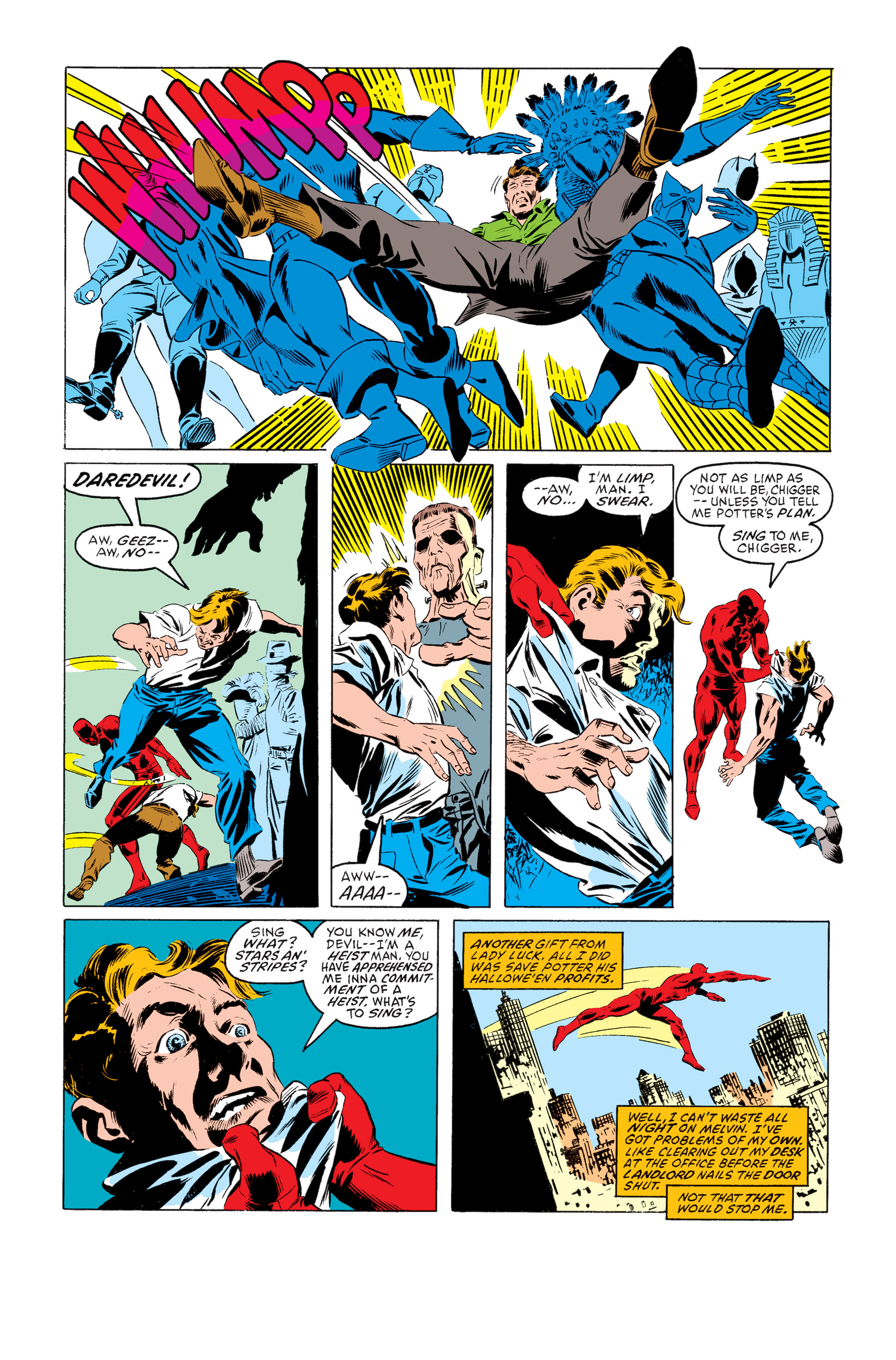 Read online Daredevil: Born Again comic -  Issue # Full - 12