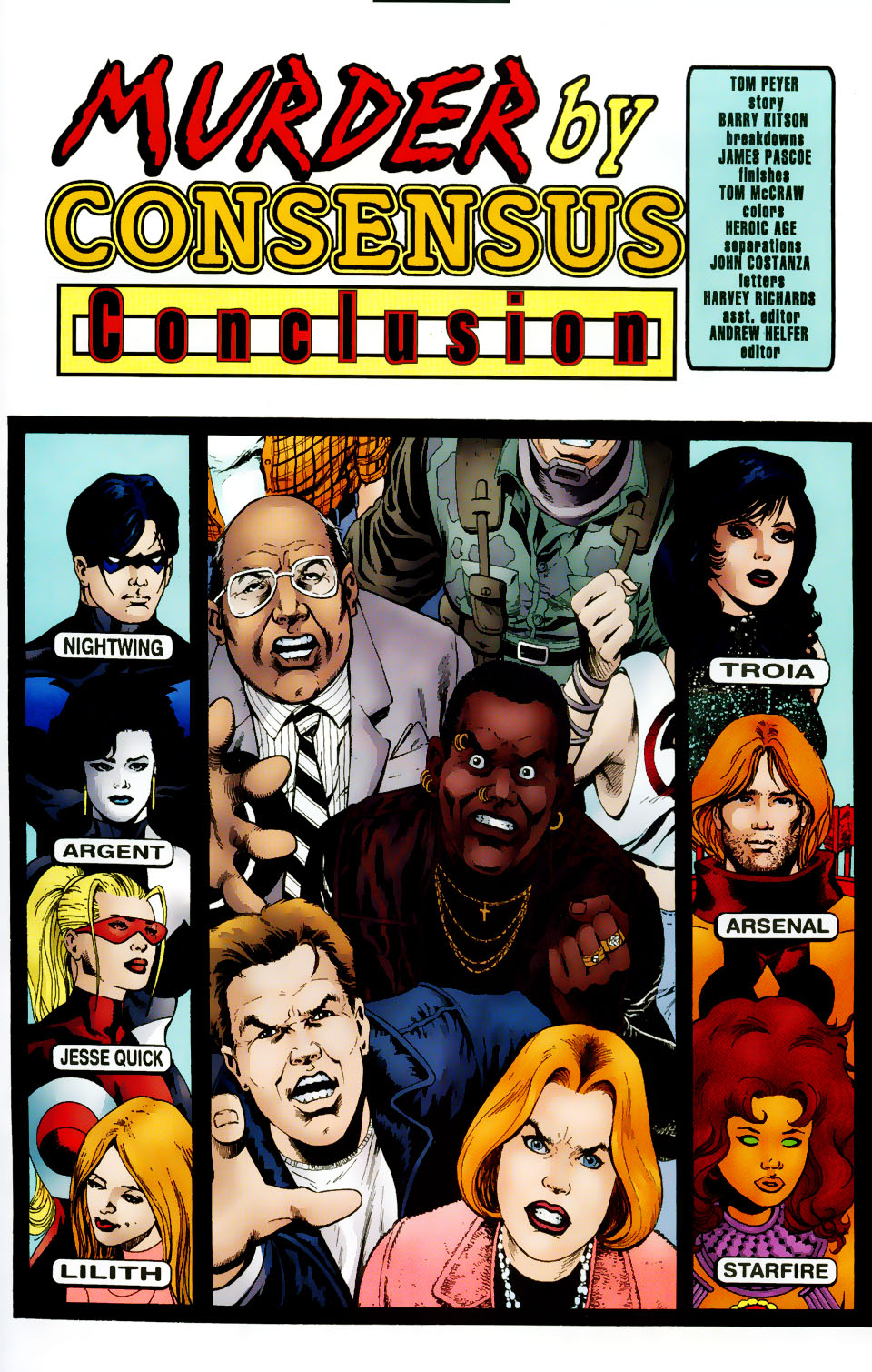 Read online The Titans (1999) comic -  Issue #50 - 2