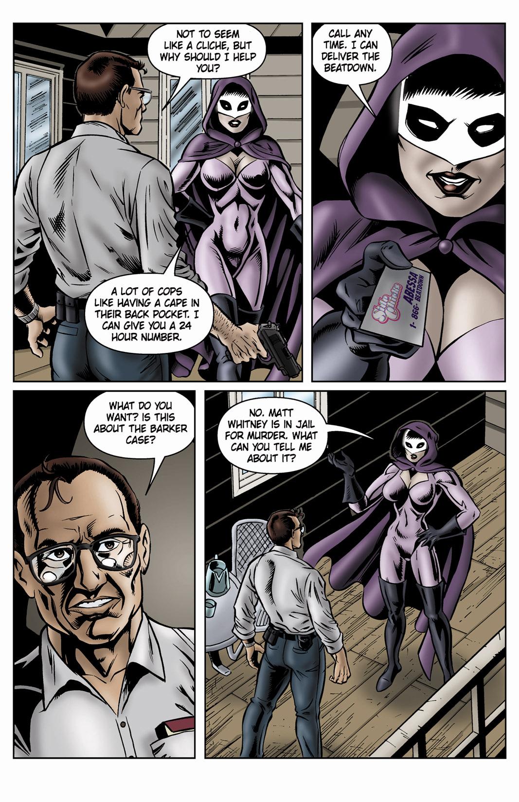 Read online SideChicks comic -  Issue #4 - 24