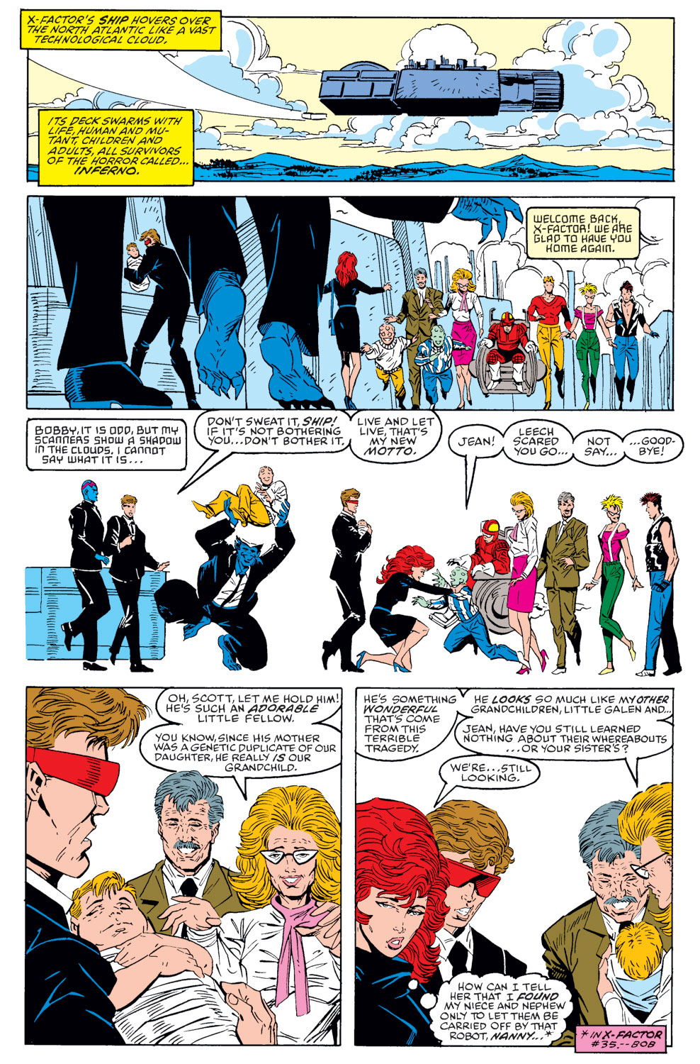 Read online X-Factor (1986) comic -  Issue #40 - 4