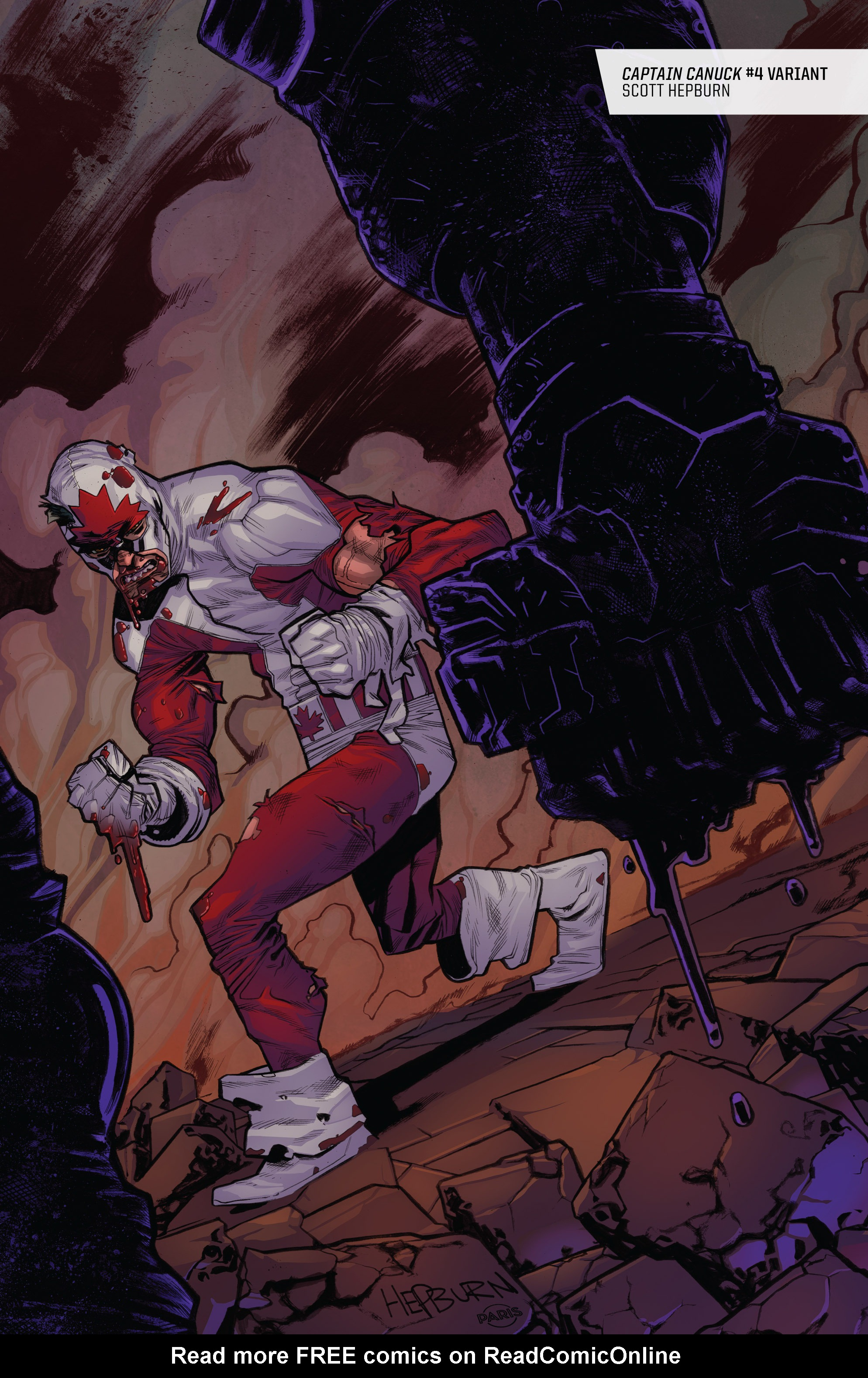 Read online All-New Classic Captain Canuck comic -  Issue #0 - 49