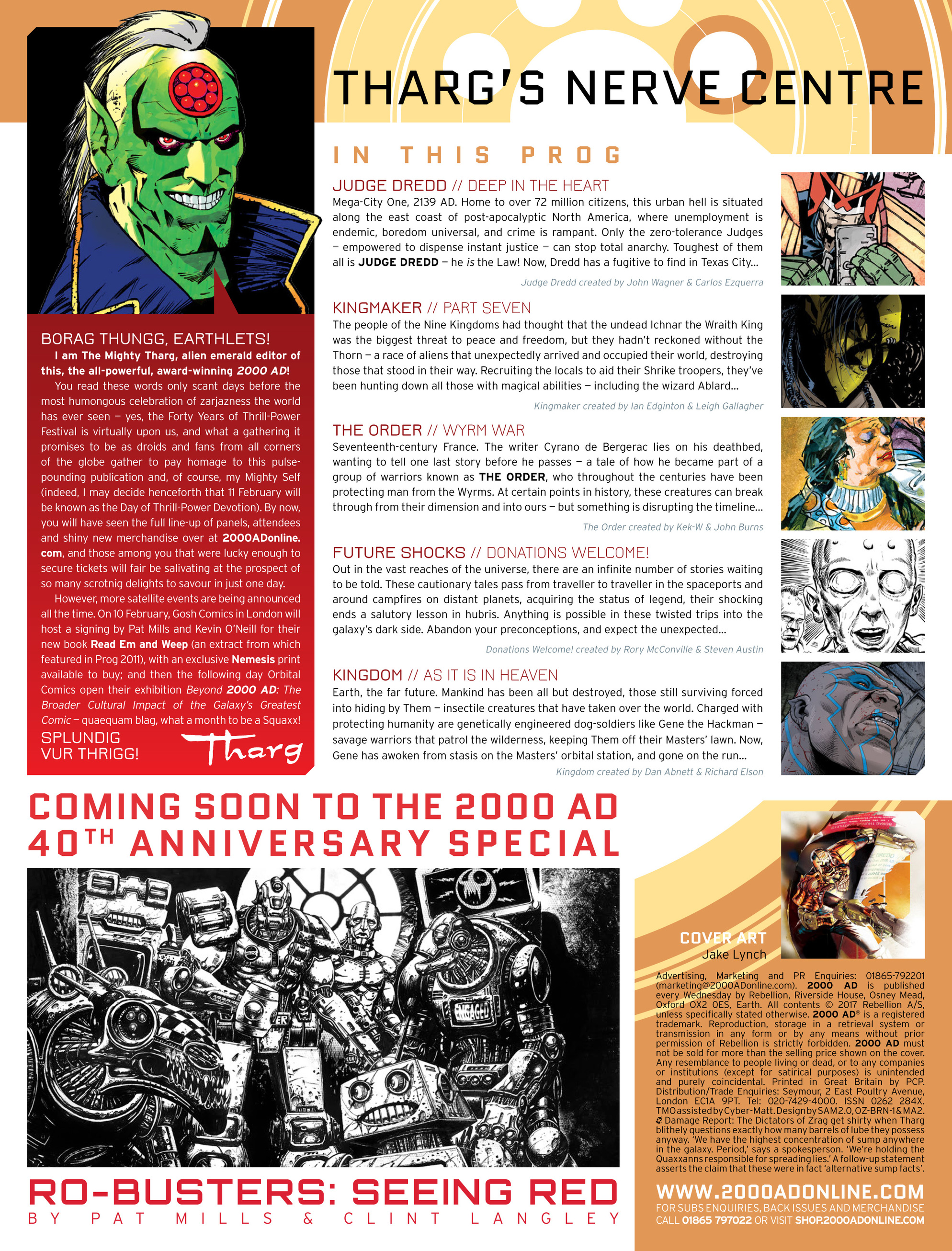 Read online 2000 AD comic -  Issue #2017 - 2