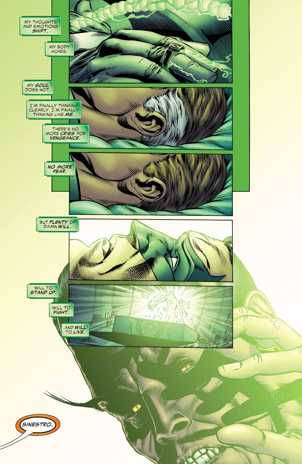Read online Green Lantern by Geoff Johns comic -  Issue # TPB 1 (Part 2) - 10