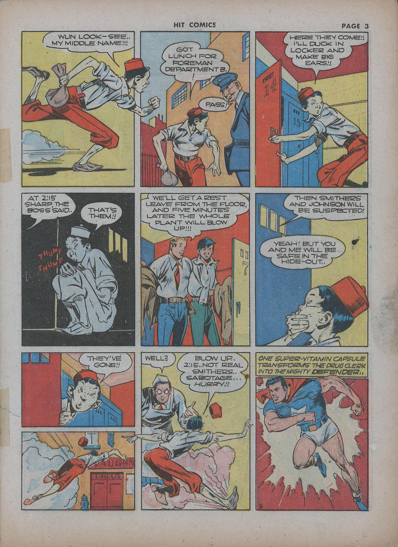 Read online Hit Comics comic -  Issue #22 - 5