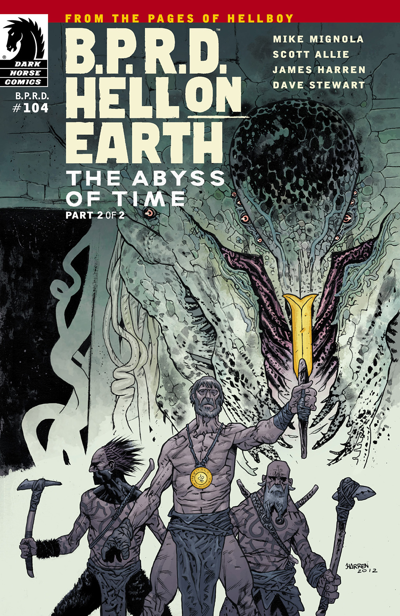 Read online B.P.R.D. Hell on Earth: The Abyss of Time comic -  Issue #104 - 1