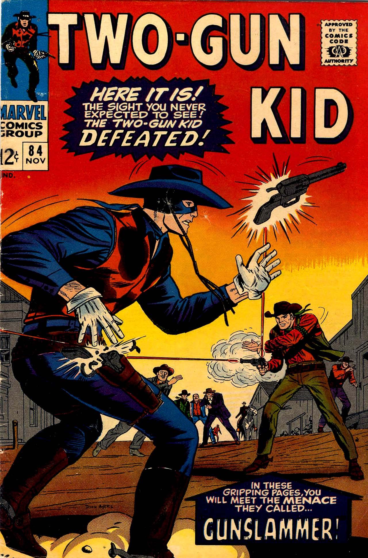 Read online Two-Gun Kid comic -  Issue #84 - 1
