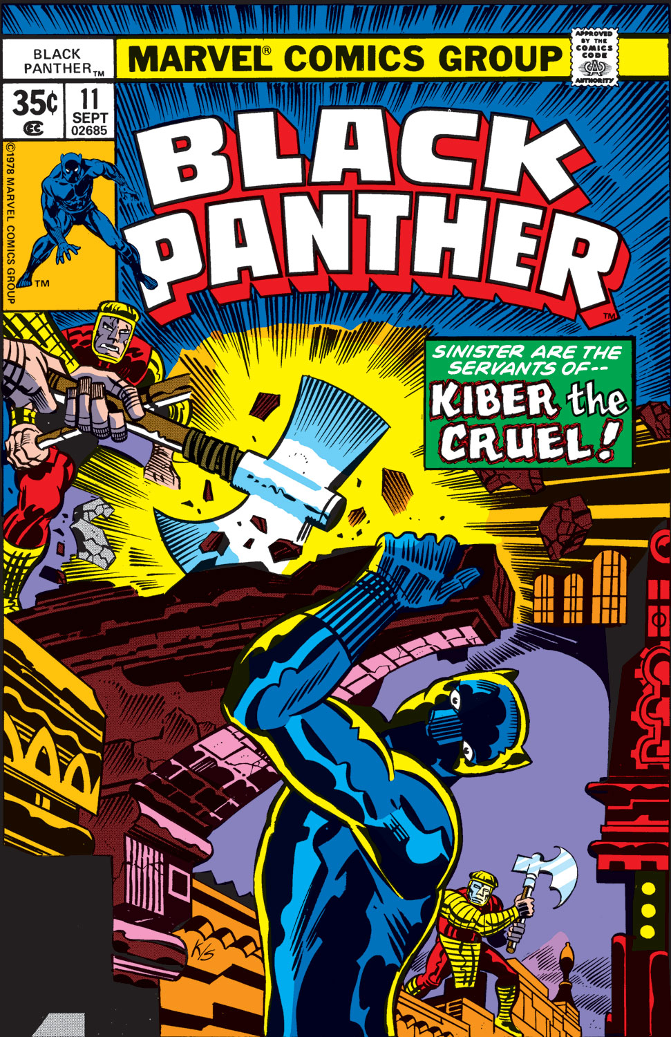 Black Panther (1977) issue 11 - Page 1