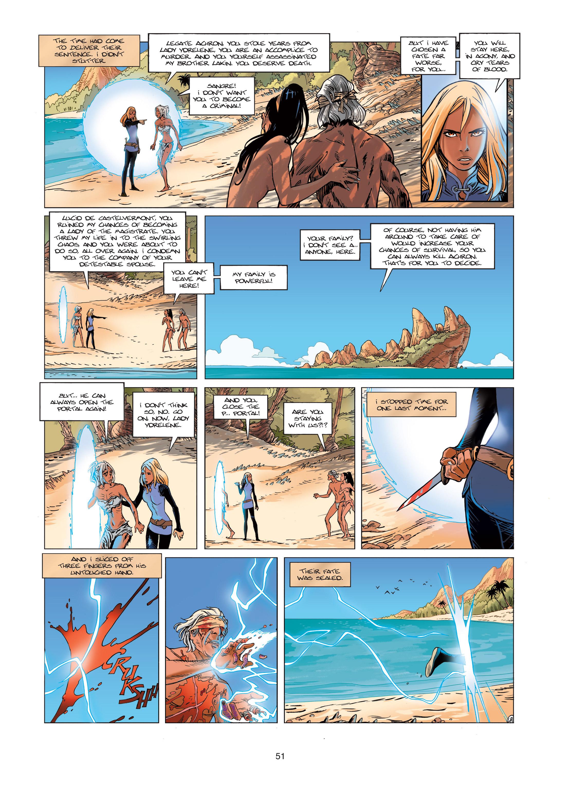 Read online Sangre Vol. 1: Sangre the Survivor comic -  Issue # Full - 51