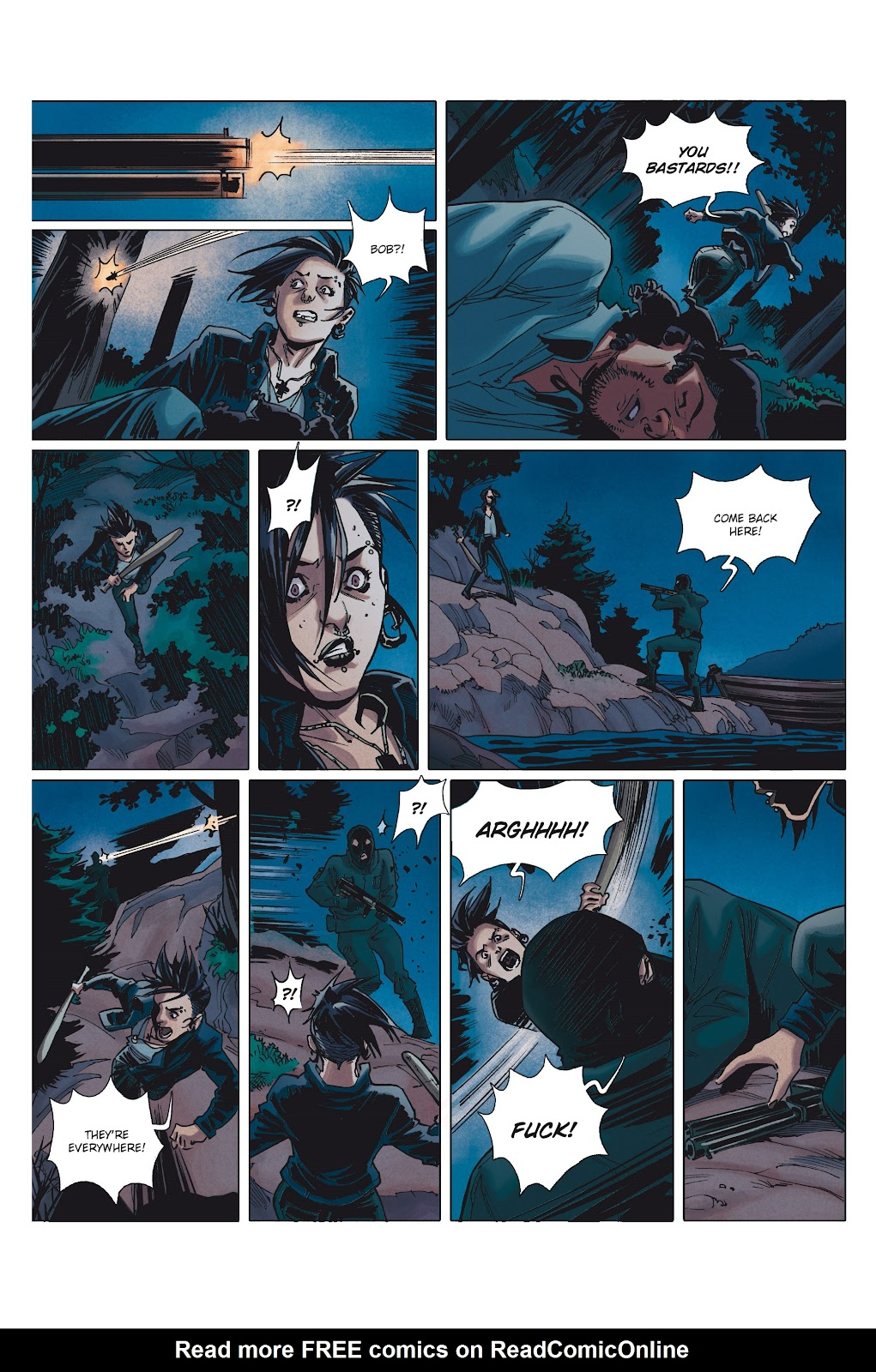 Read online Millennium: The Girl Who Danced With Death comic -  Issue #1 - 40