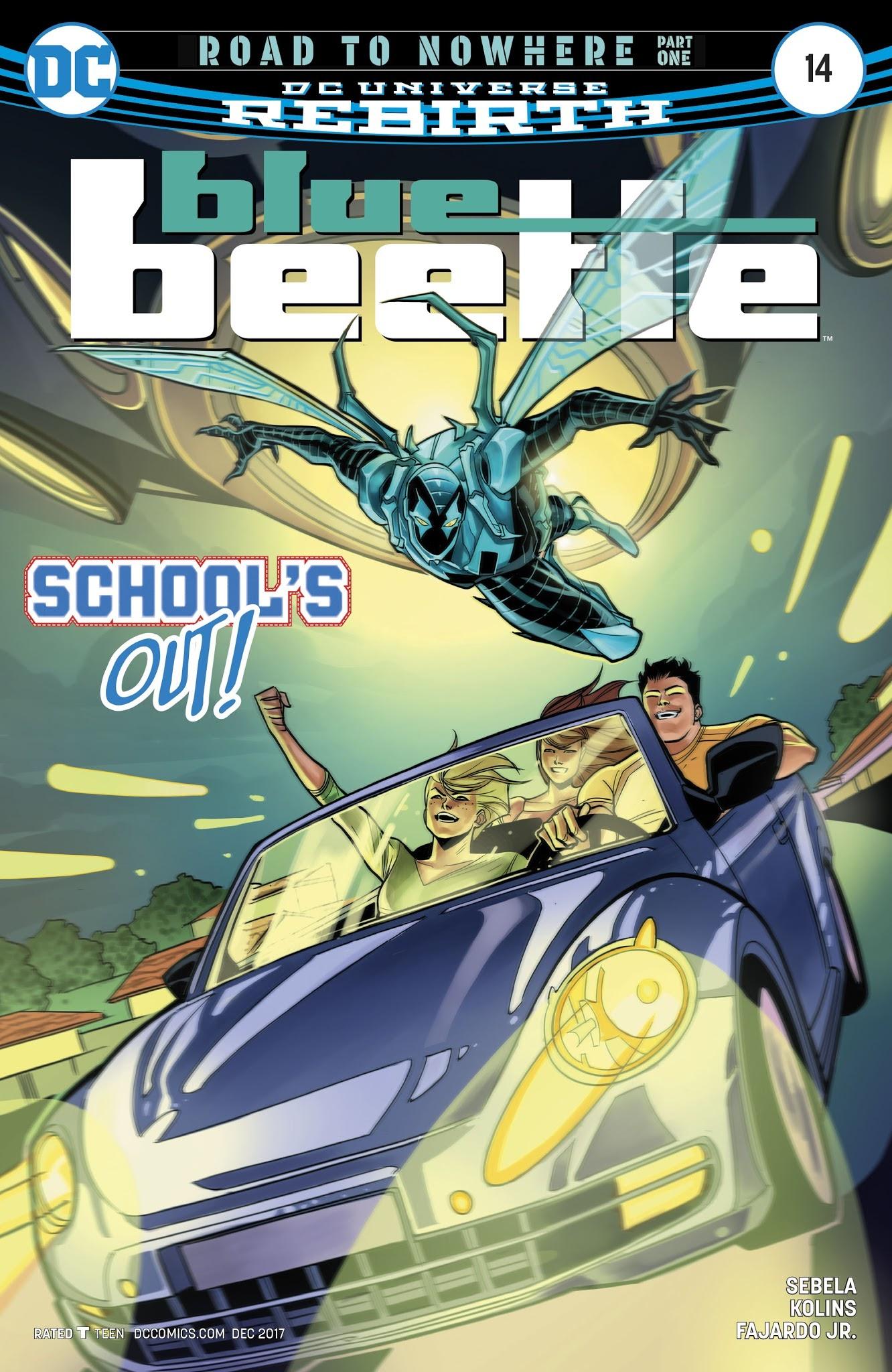 Blue Beetle (2016) 14 Page 1