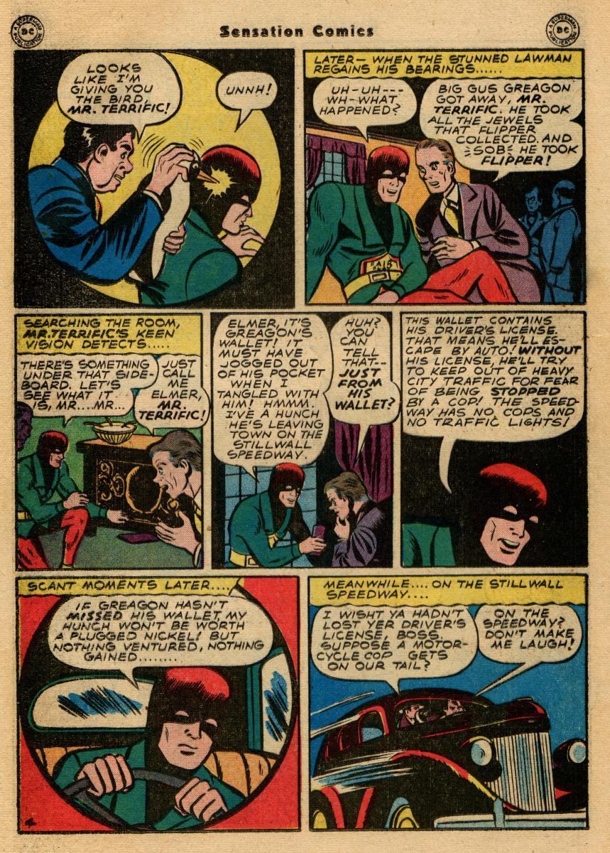 Read online Sensation (Mystery) Comics comic -  Issue #61 - 36
