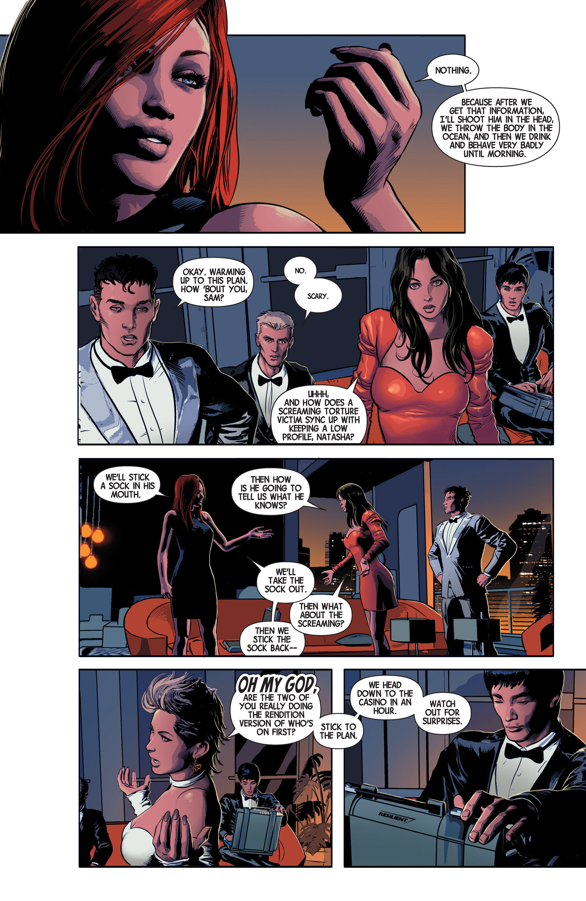 Read online Avengers (2013) comic -  Issue #11 - 12