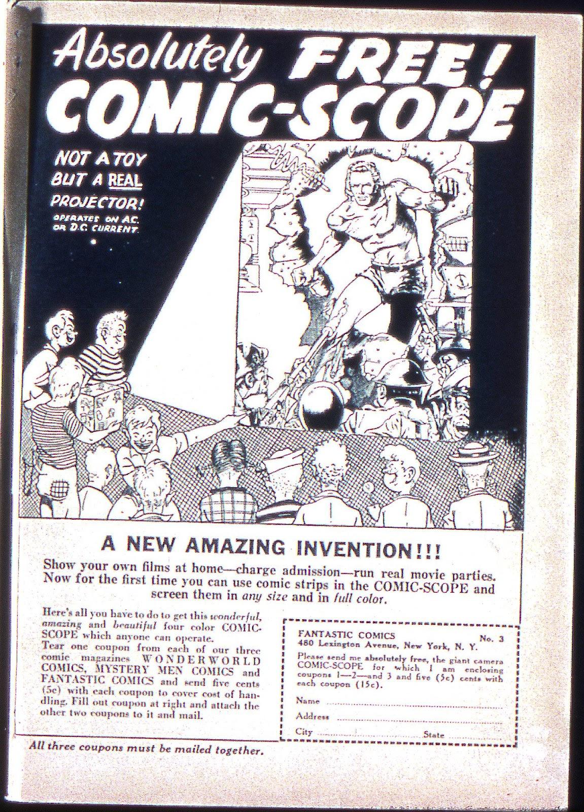 Read online Fantastic Comics comic -  Issue #3 - 67