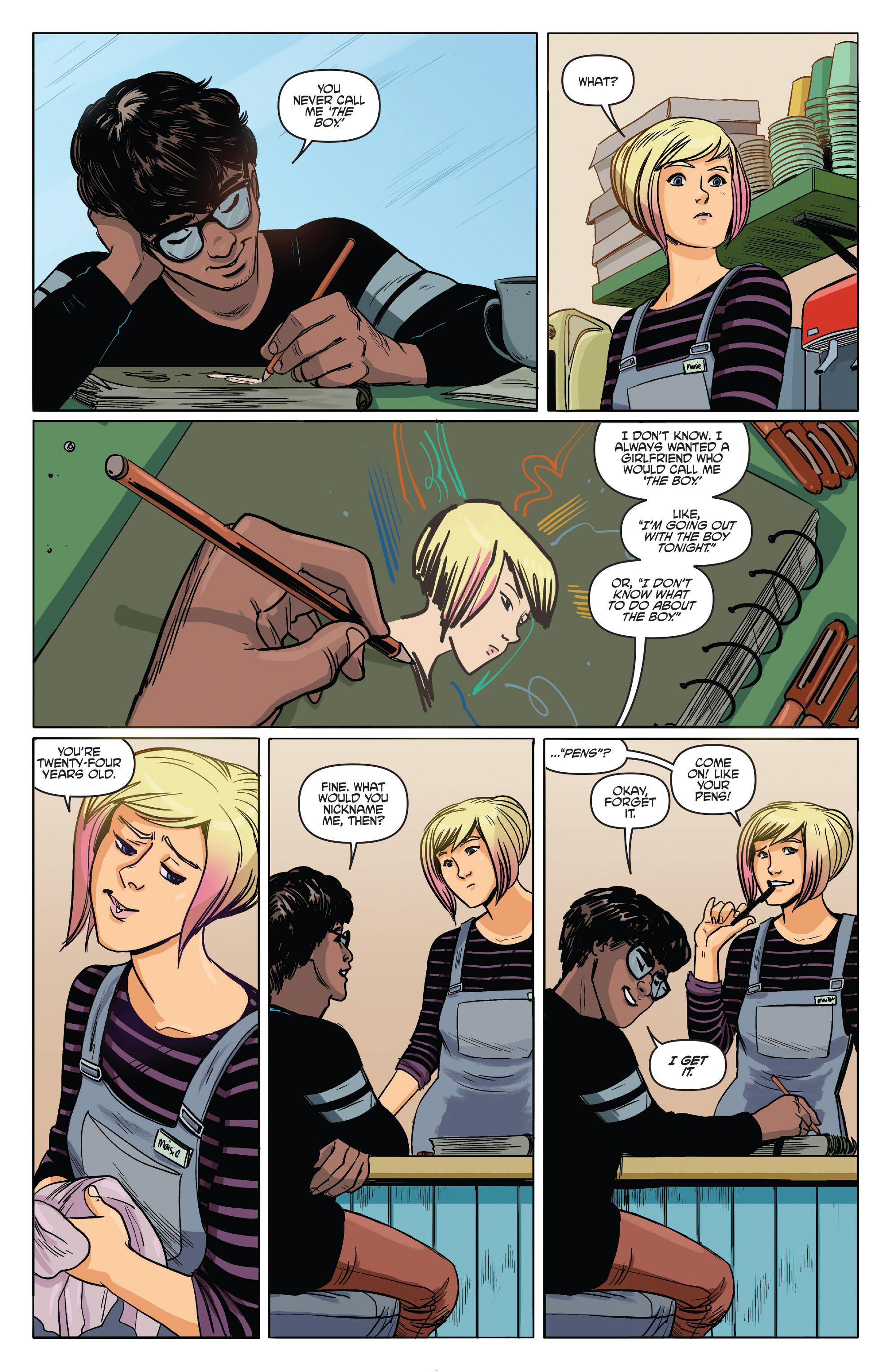 Read online Slam! comic -  Issue #3 - 11