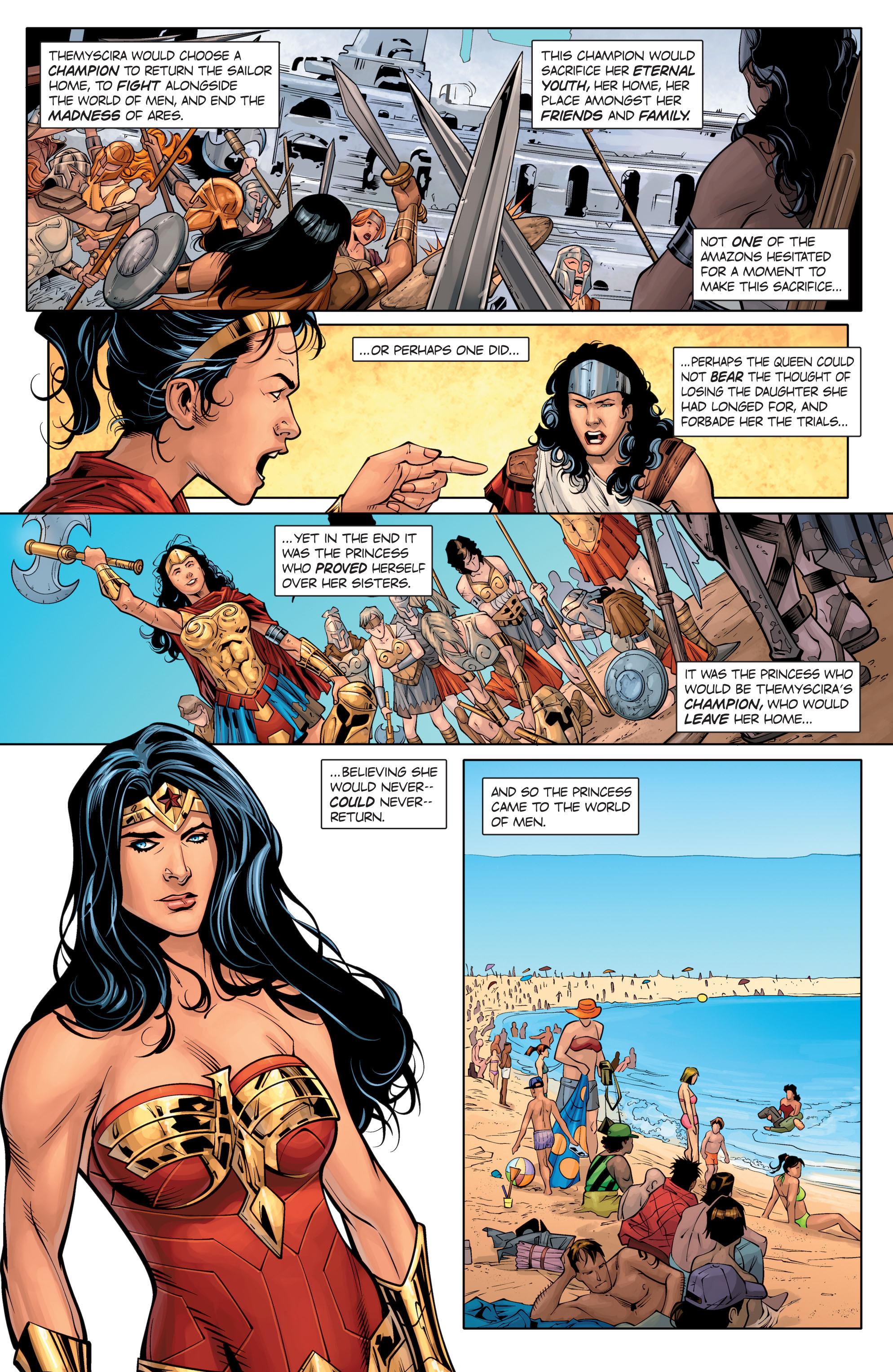 Read online Wonder Woman: Rebirth comic -  Issue # Full - 11