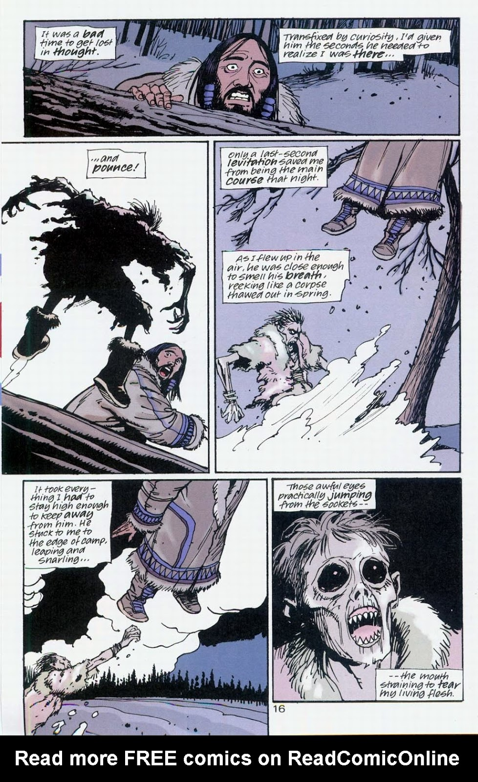 Muktuk Wolfsbreath: Hard-Boiled Shaman issue 1 - Page 16