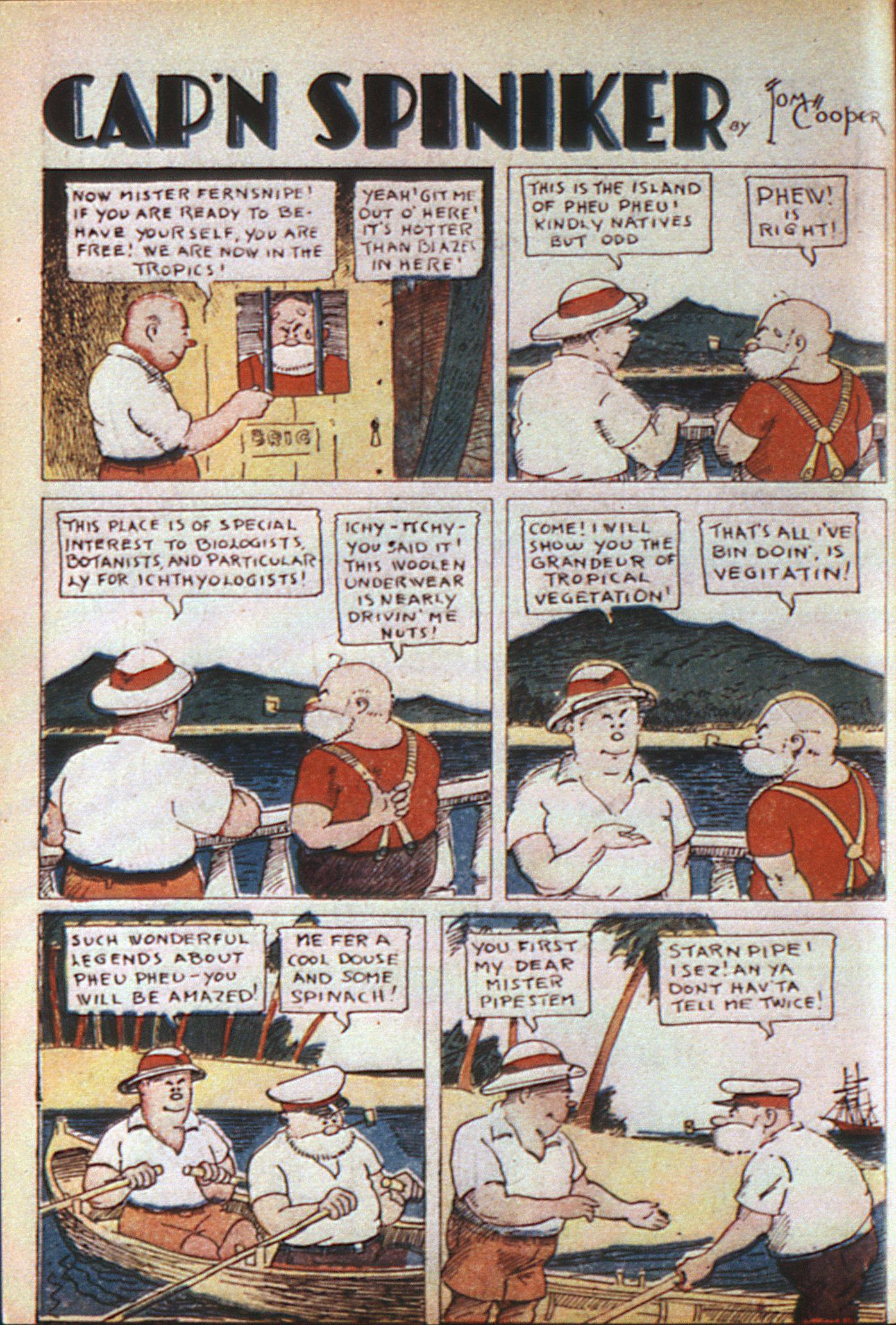 Read online Adventure Comics (1938) comic -  Issue #6 - 58
