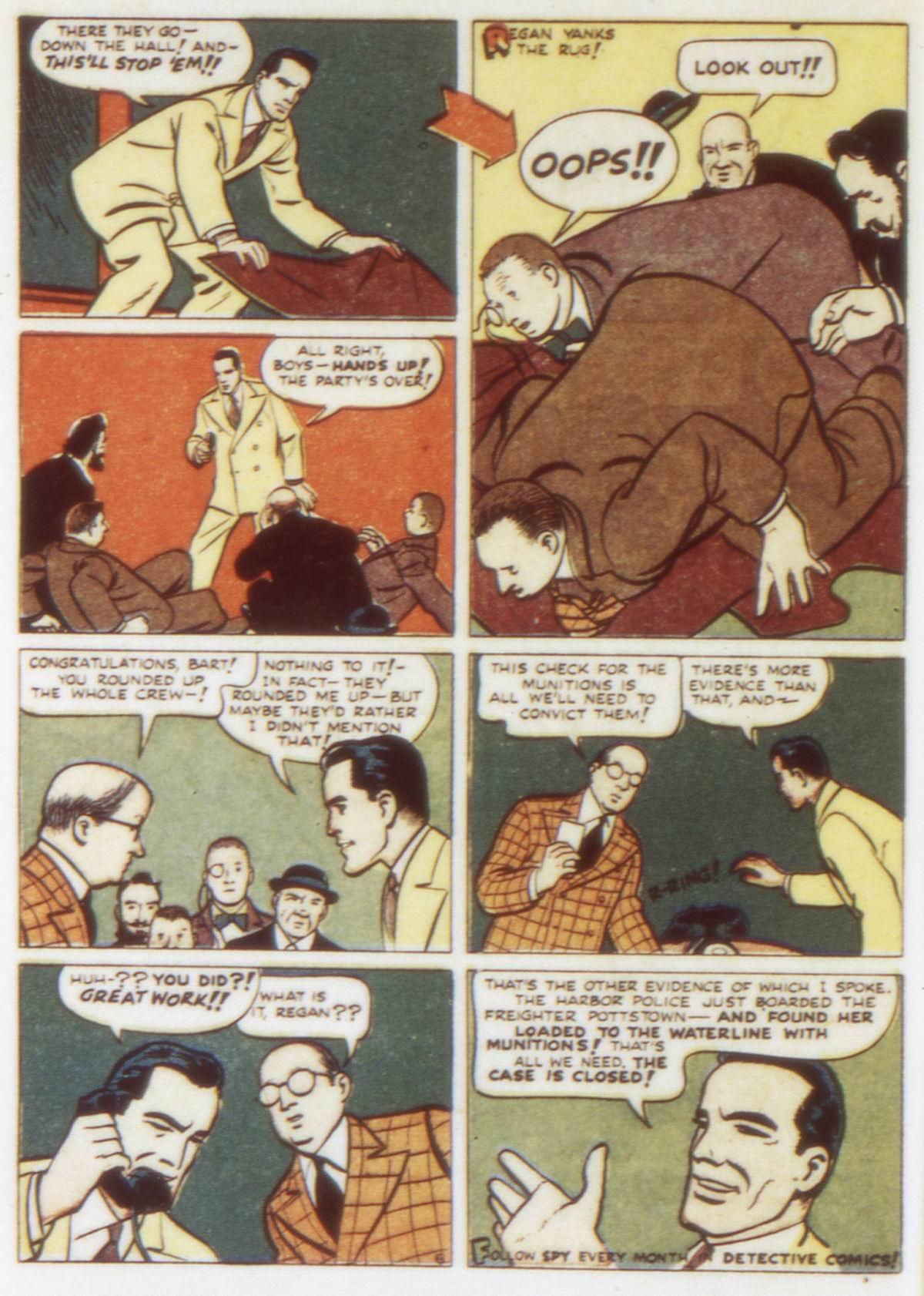 Read online Detective Comics (1937) comic -  Issue #58 - 22