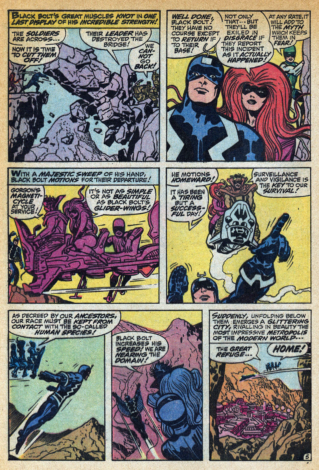 Read online Amazing Adventures (1970) comic -  Issue #1 - 8