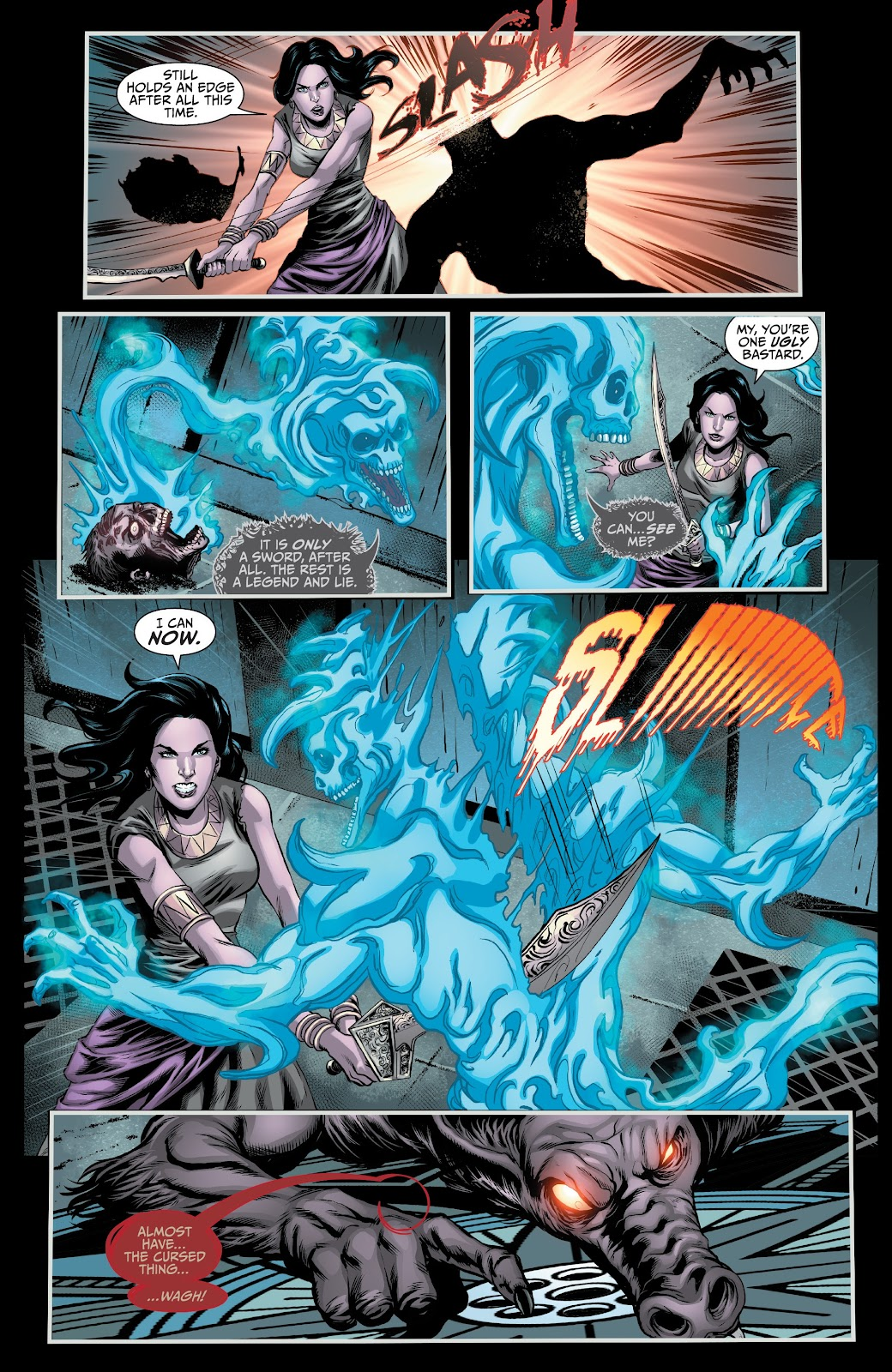 Read online Van Helsing: Sword of Heaven comic -  Issue #6 - 22