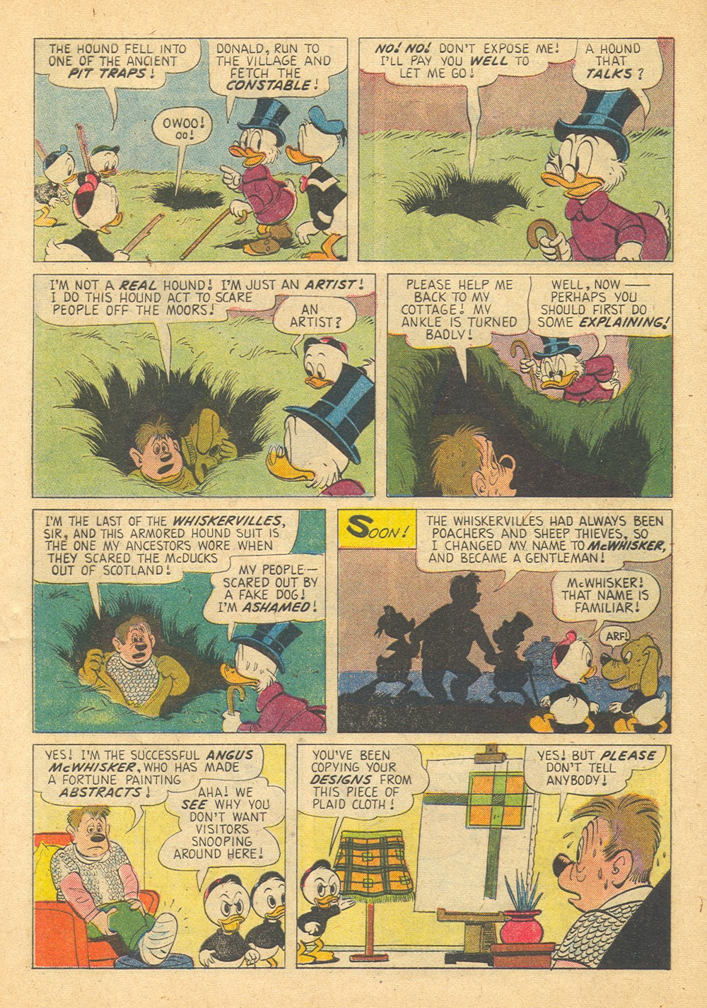 Read online Uncle Scrooge (1953) comic -  Issue #29 - 32