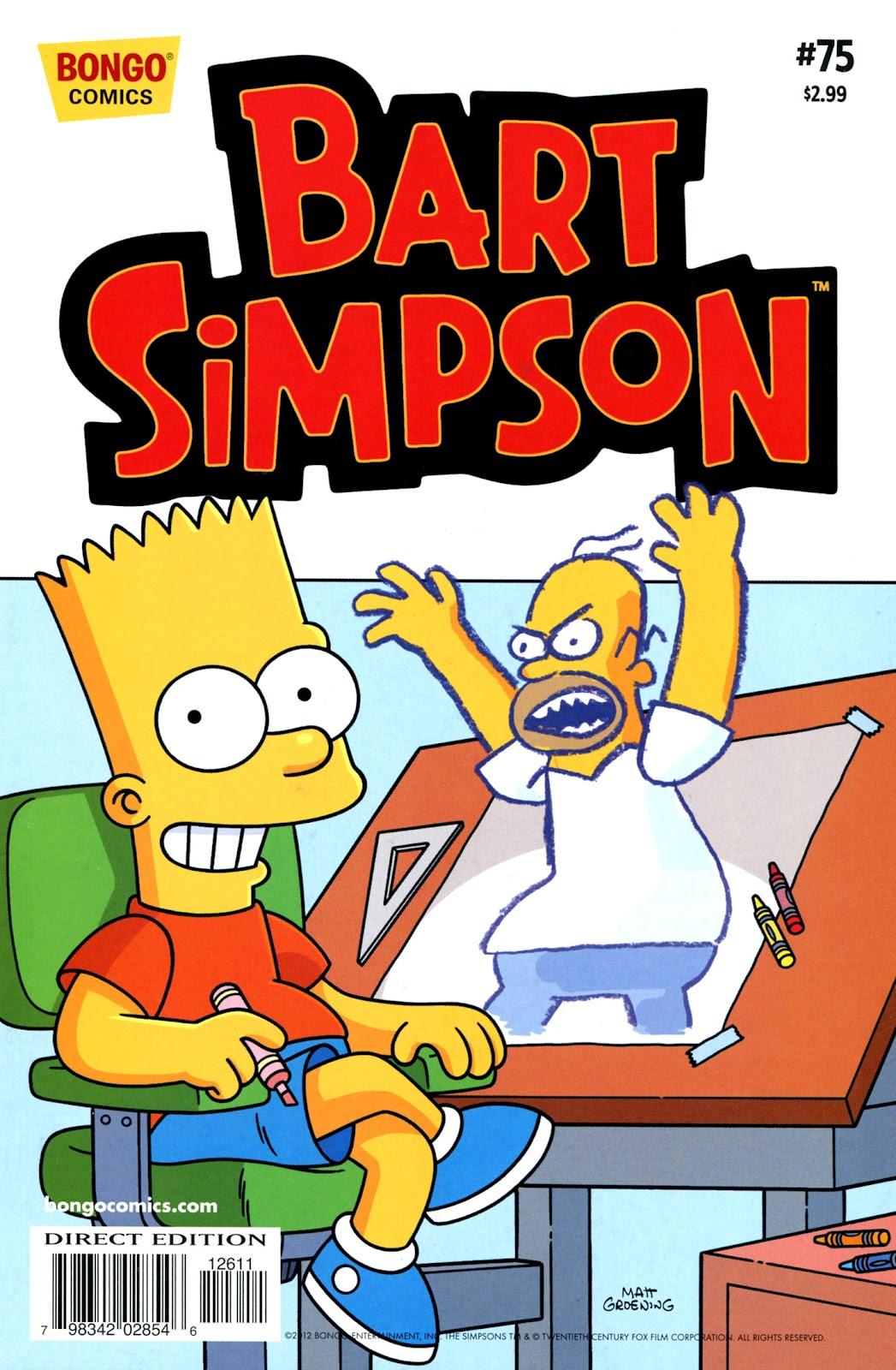 Simpsons Comics Presents Bart Simpson 75 Page 1