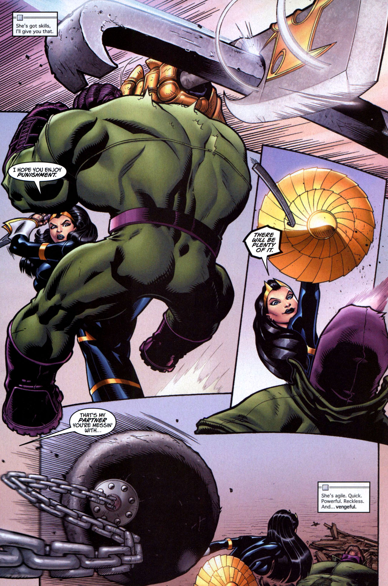 Read online Ultimate Hulk Annual comic -  Issue # Full - 4