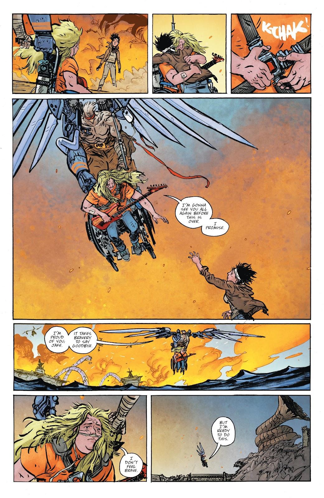 Read online Murder Falcon comic -  Issue #8 - 8
