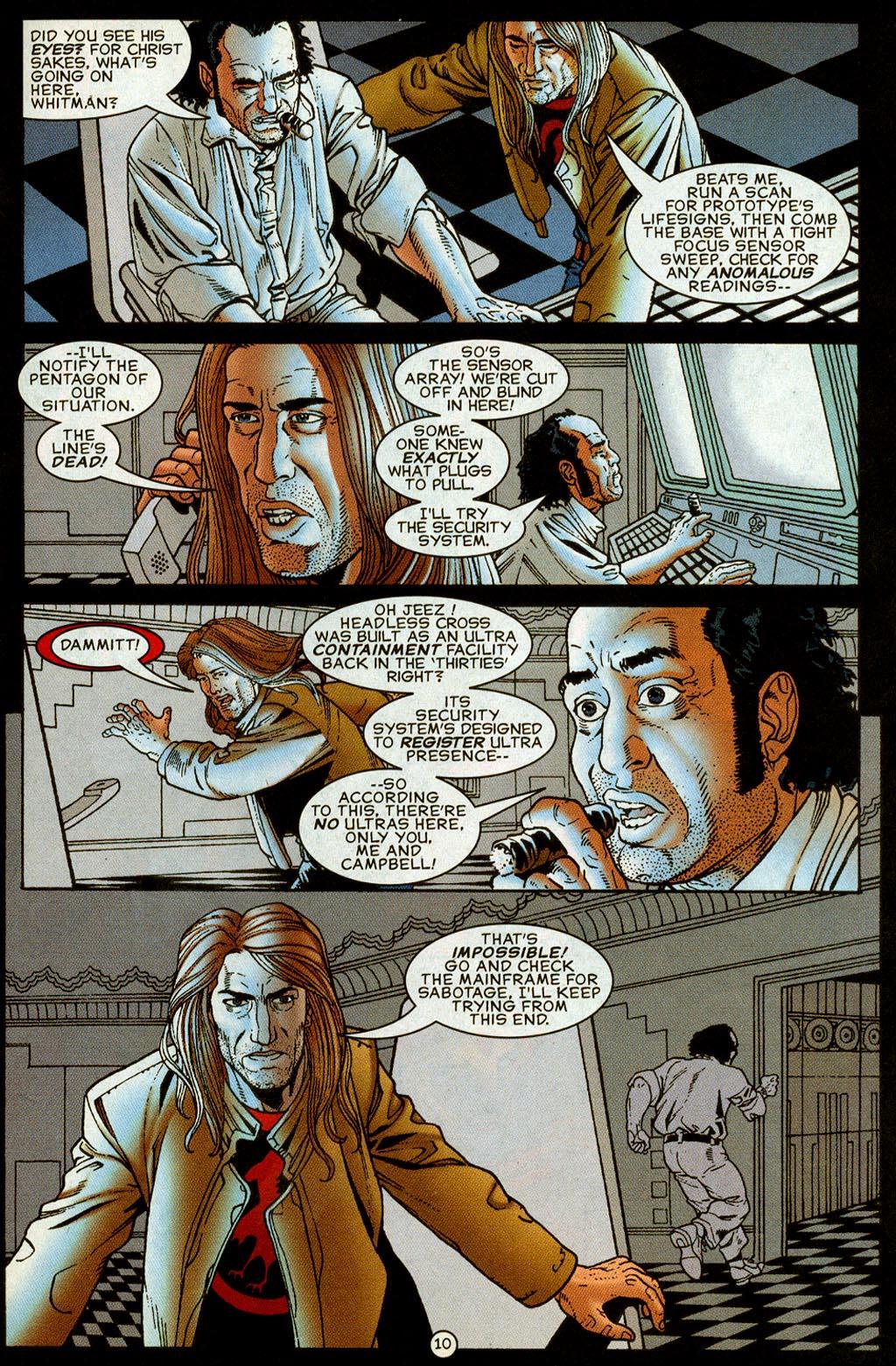 Read online UltraForce (1995) comic -  Issue #8 - 11