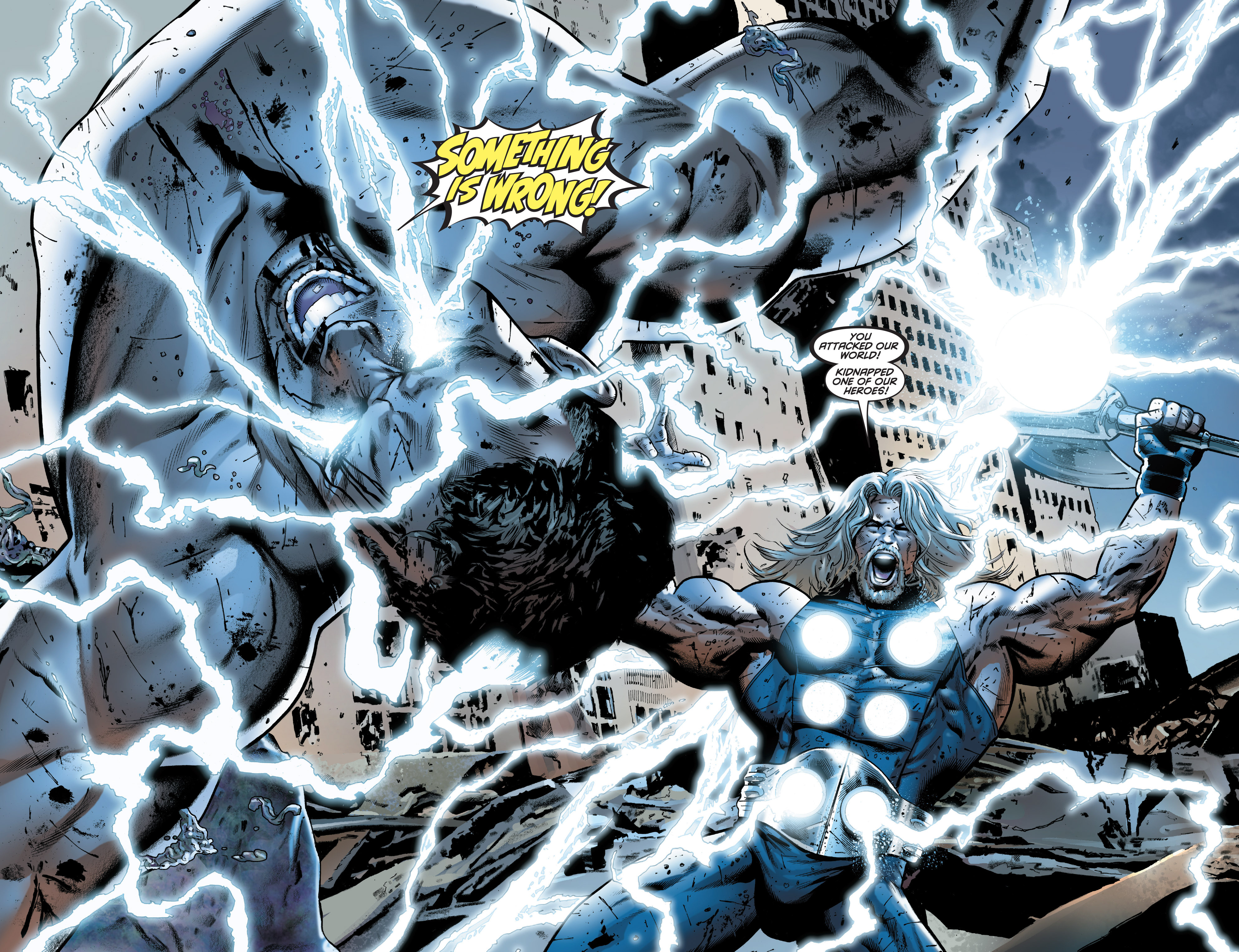Read online Ultimate Power comic -  Issue #8 - 8
