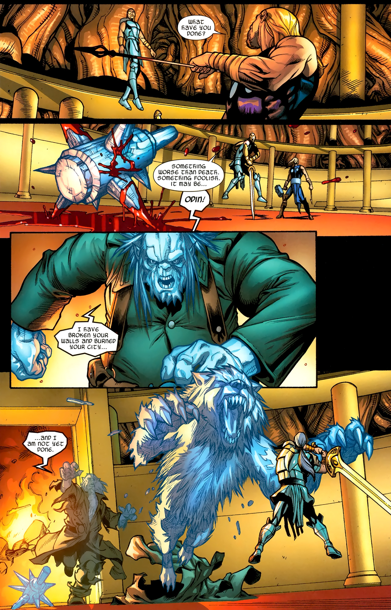 Read online Ultimate Thor comic -  Issue #3 - 19