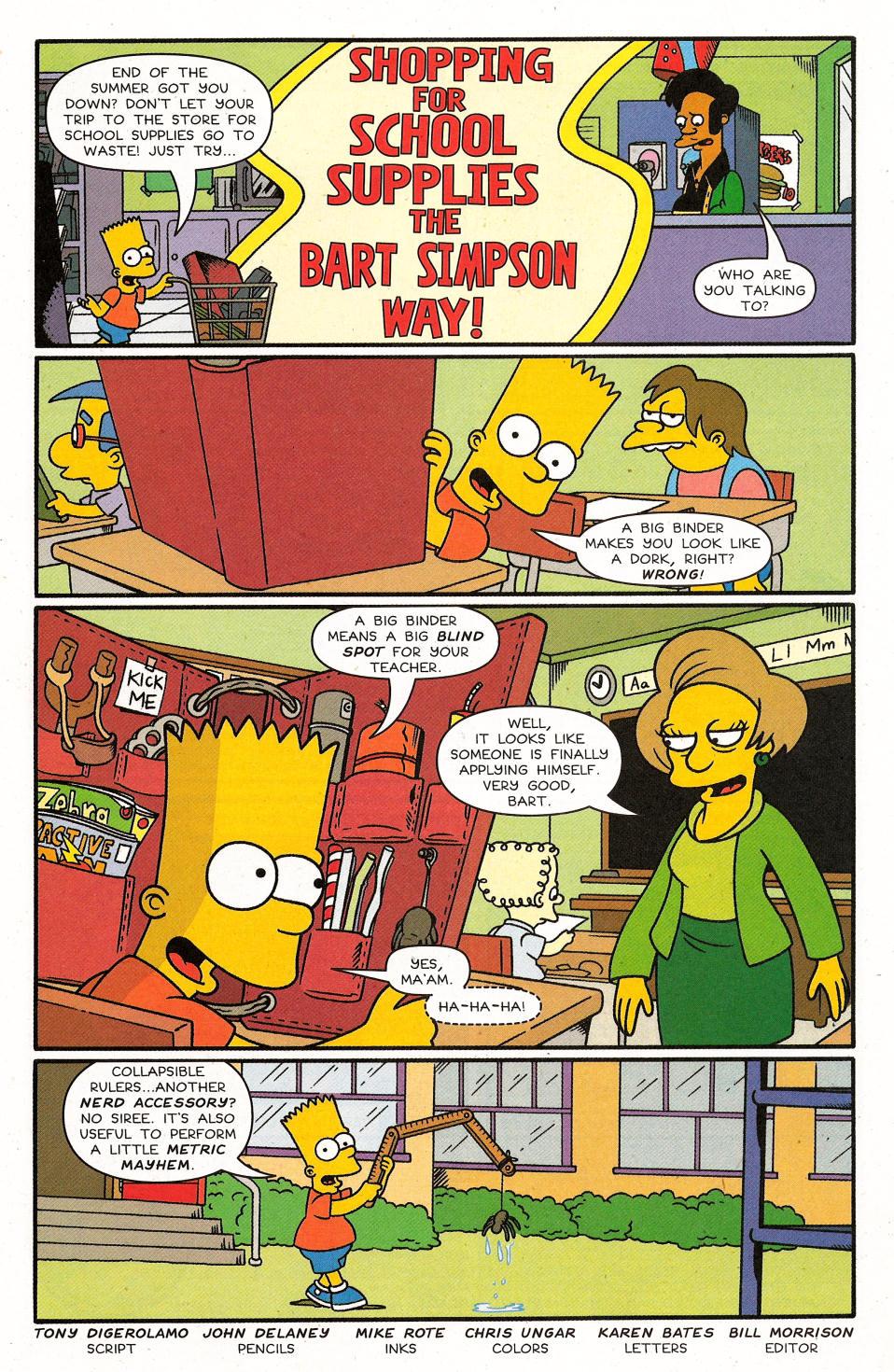 Read online Simpsons Comics Presents Bart Simpson comic -  Issue #31 - 22