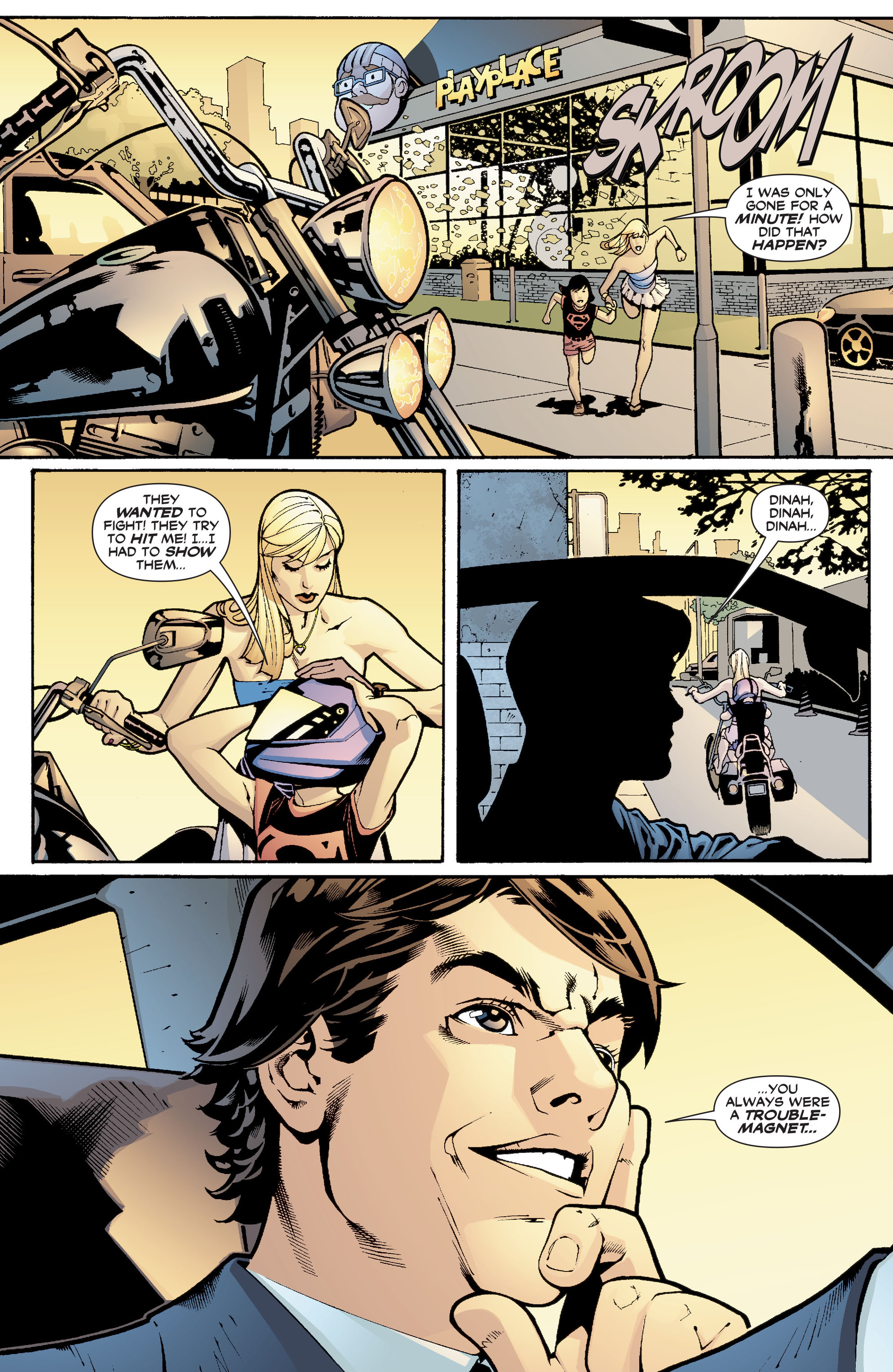 Read online Black Canary (2007) comic -  Issue #1 - 14