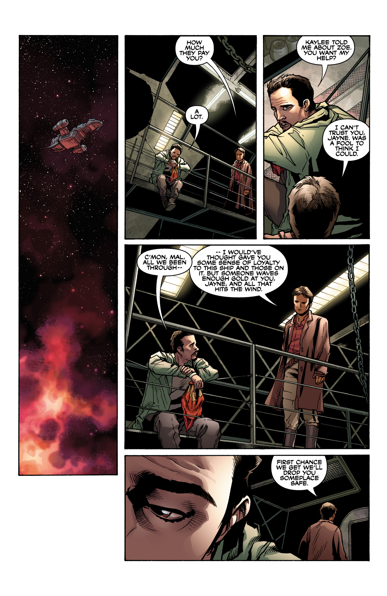 Read online Serenity: Firefly Class 03-K64  Leaves on the Wind comic -  Issue #2 - 21