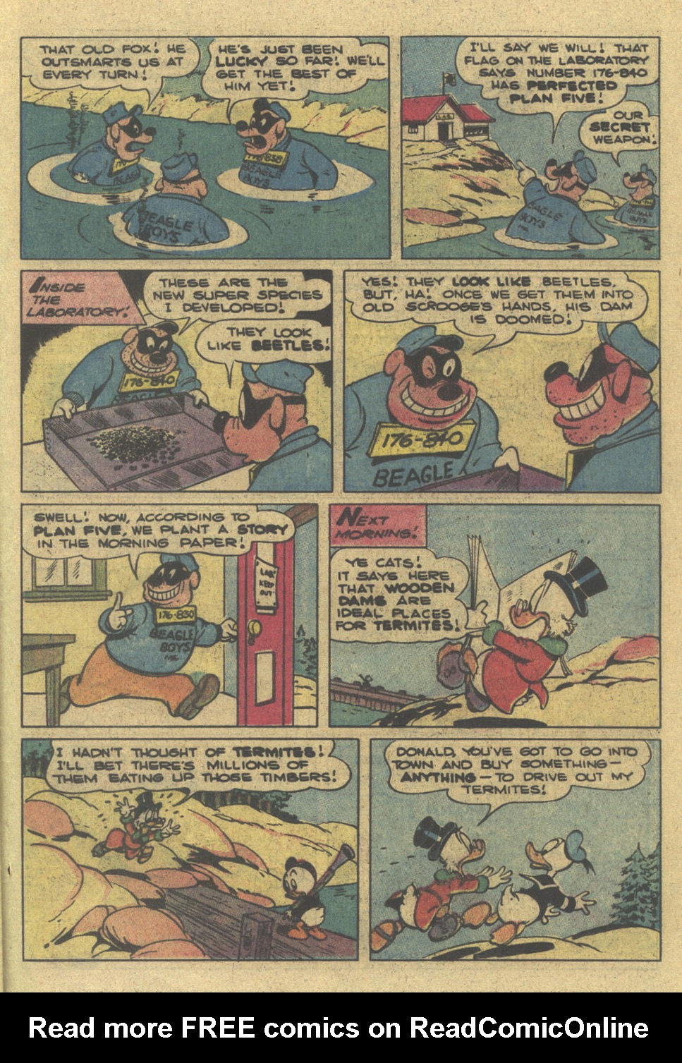 Read online Uncle Scrooge (1953) comic -  Issue #195 - 25