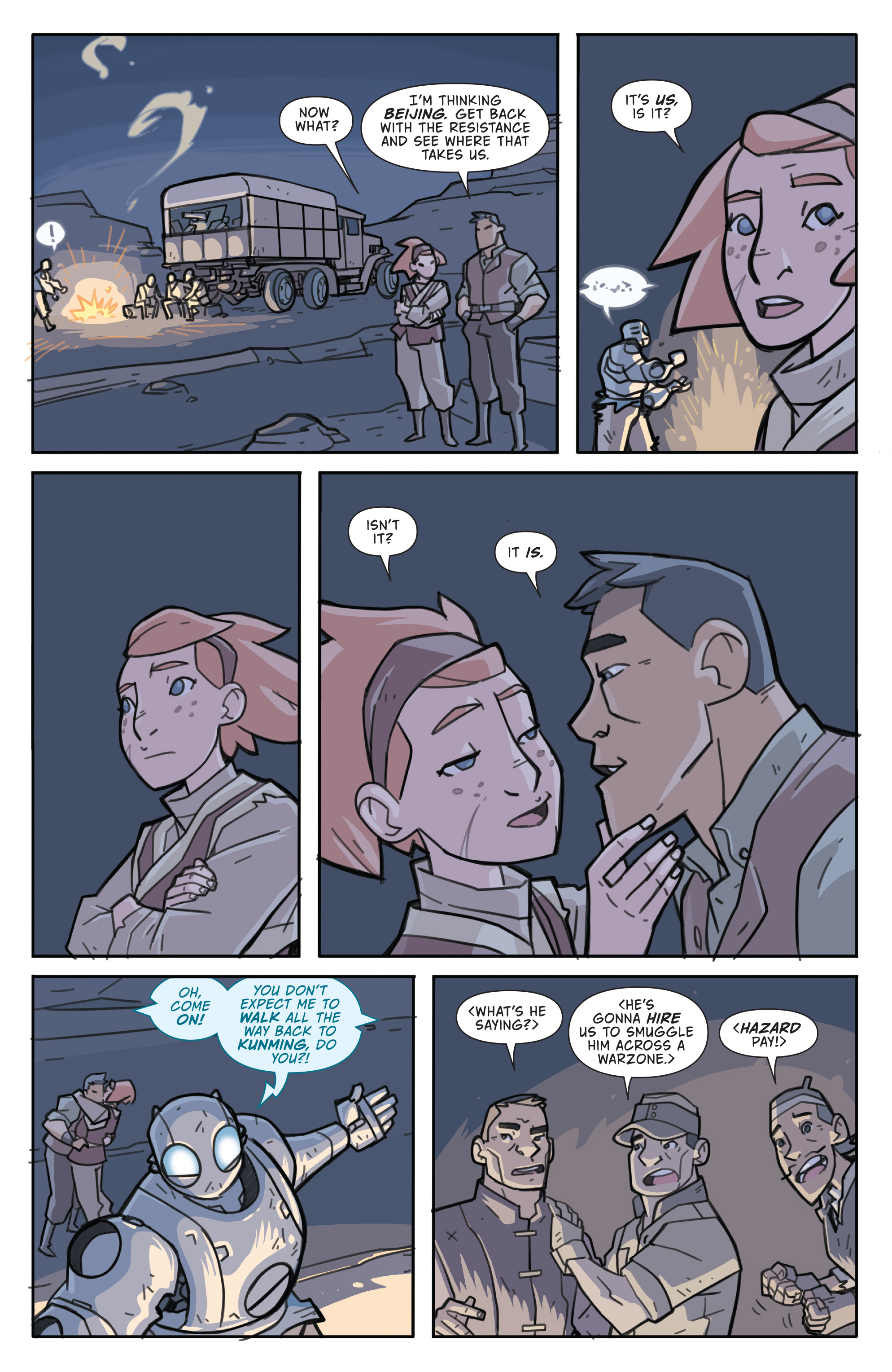 Read online Atomic Robo and the Temple of Od comic -  Issue #5 - 22