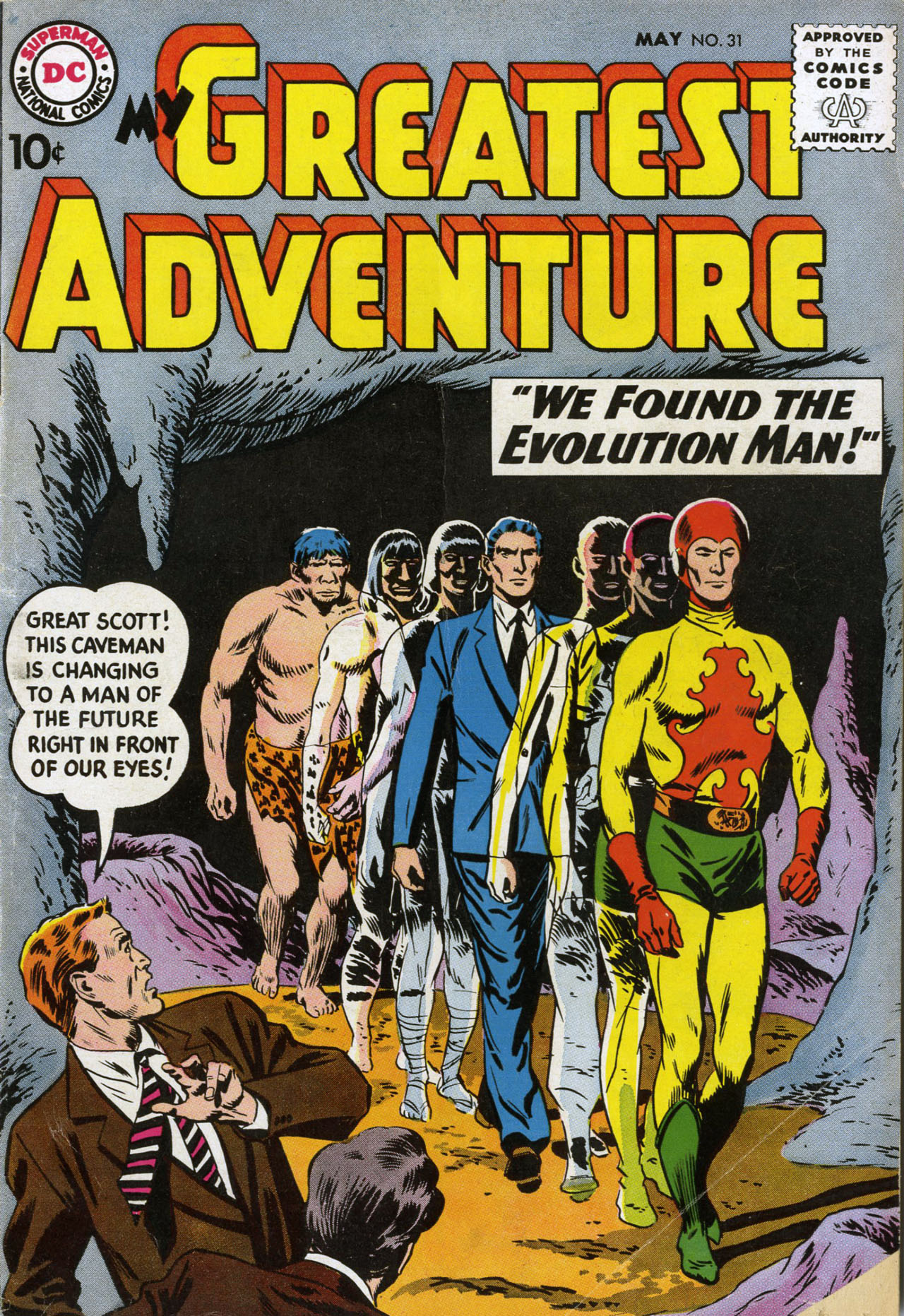 My Greatest Adventure (1955) 31 Page 1