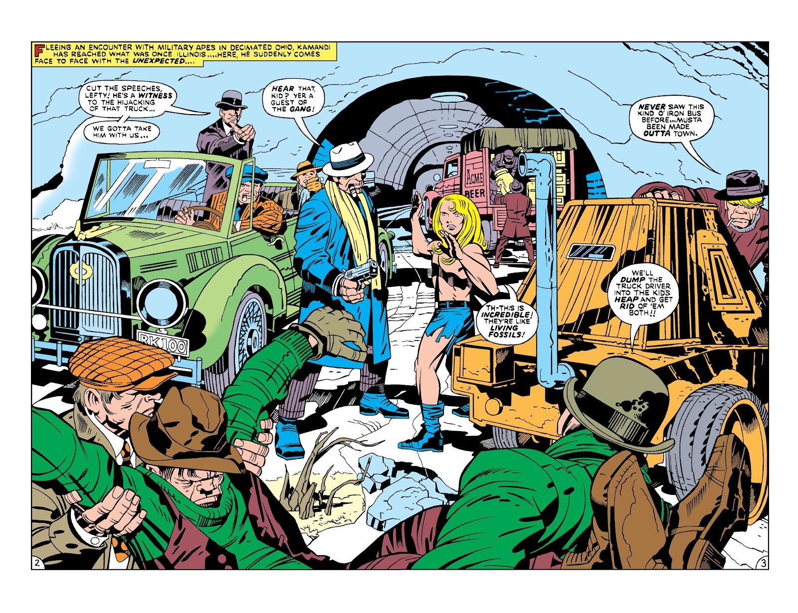 Kamandi, The Last Boy On Earth issue 19 - Page 3