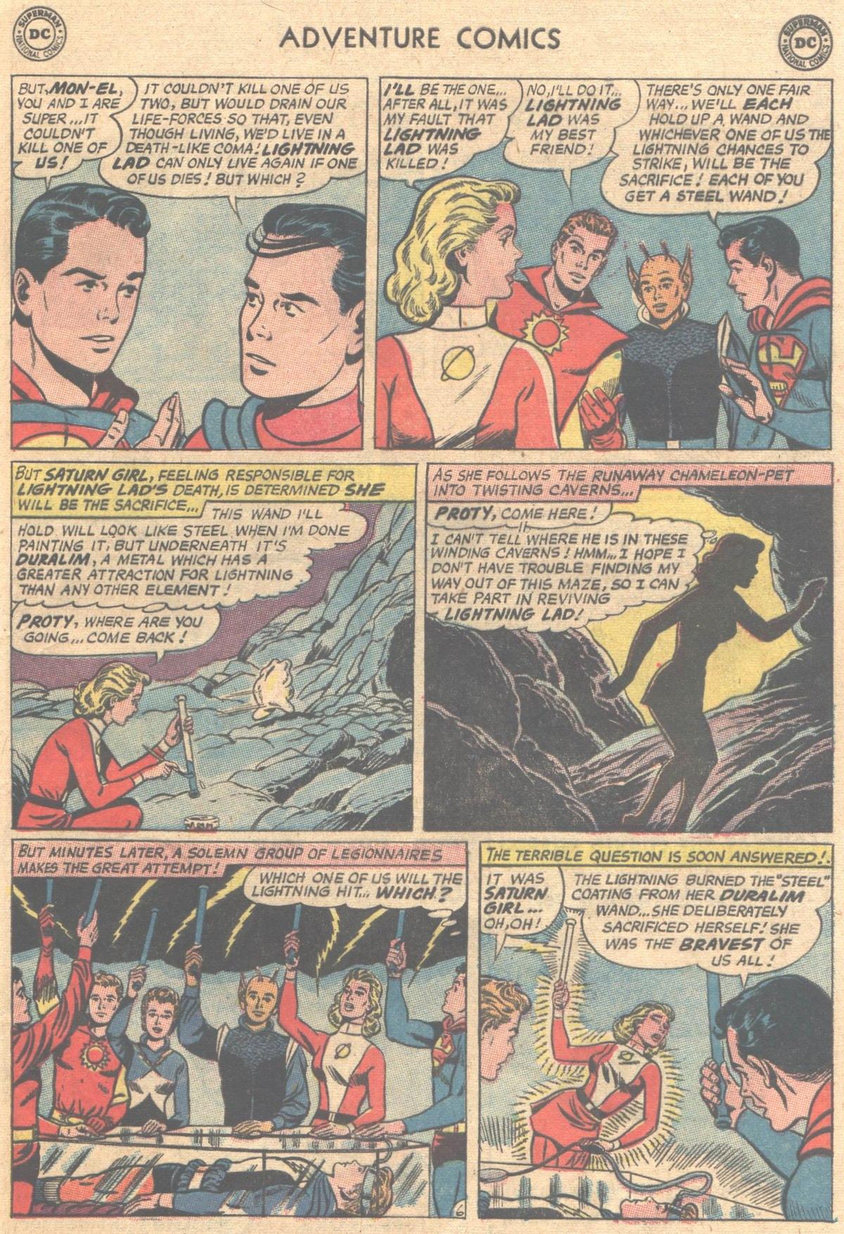Read online Adventure Comics (1938) comic -  Issue #312 - 17