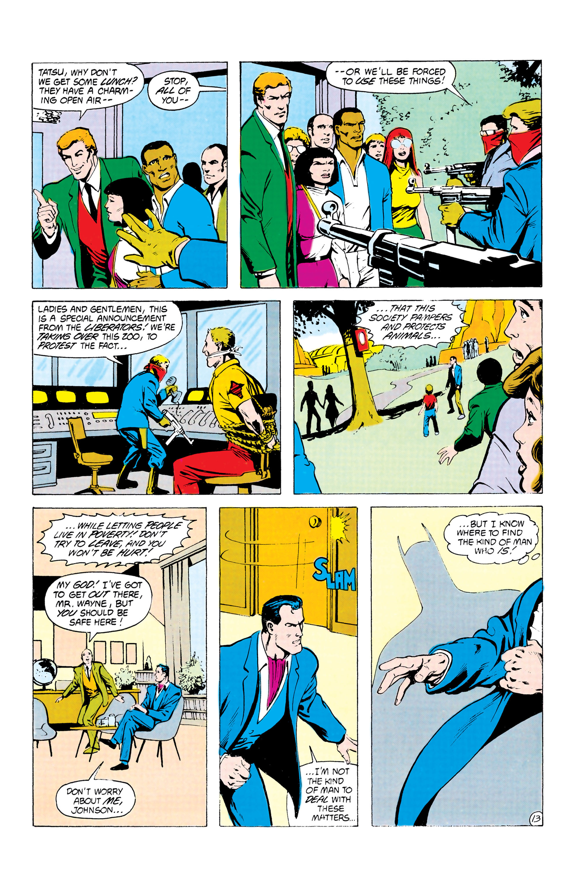 Batman and the Outsiders (1983) 24 Page 13