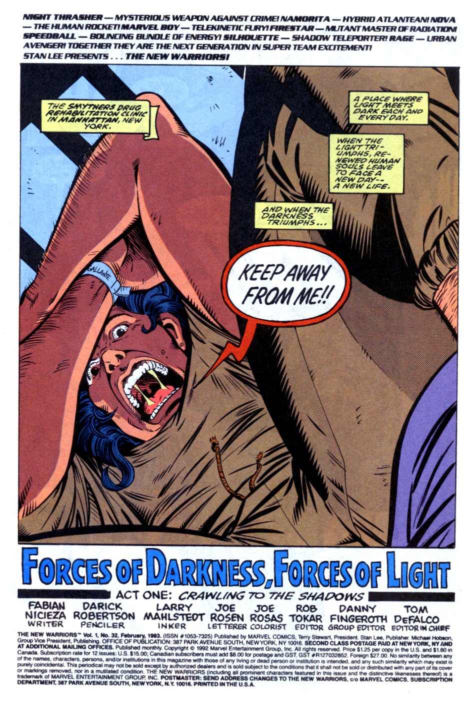 The New Warriors Issue #32 #36 - English 2