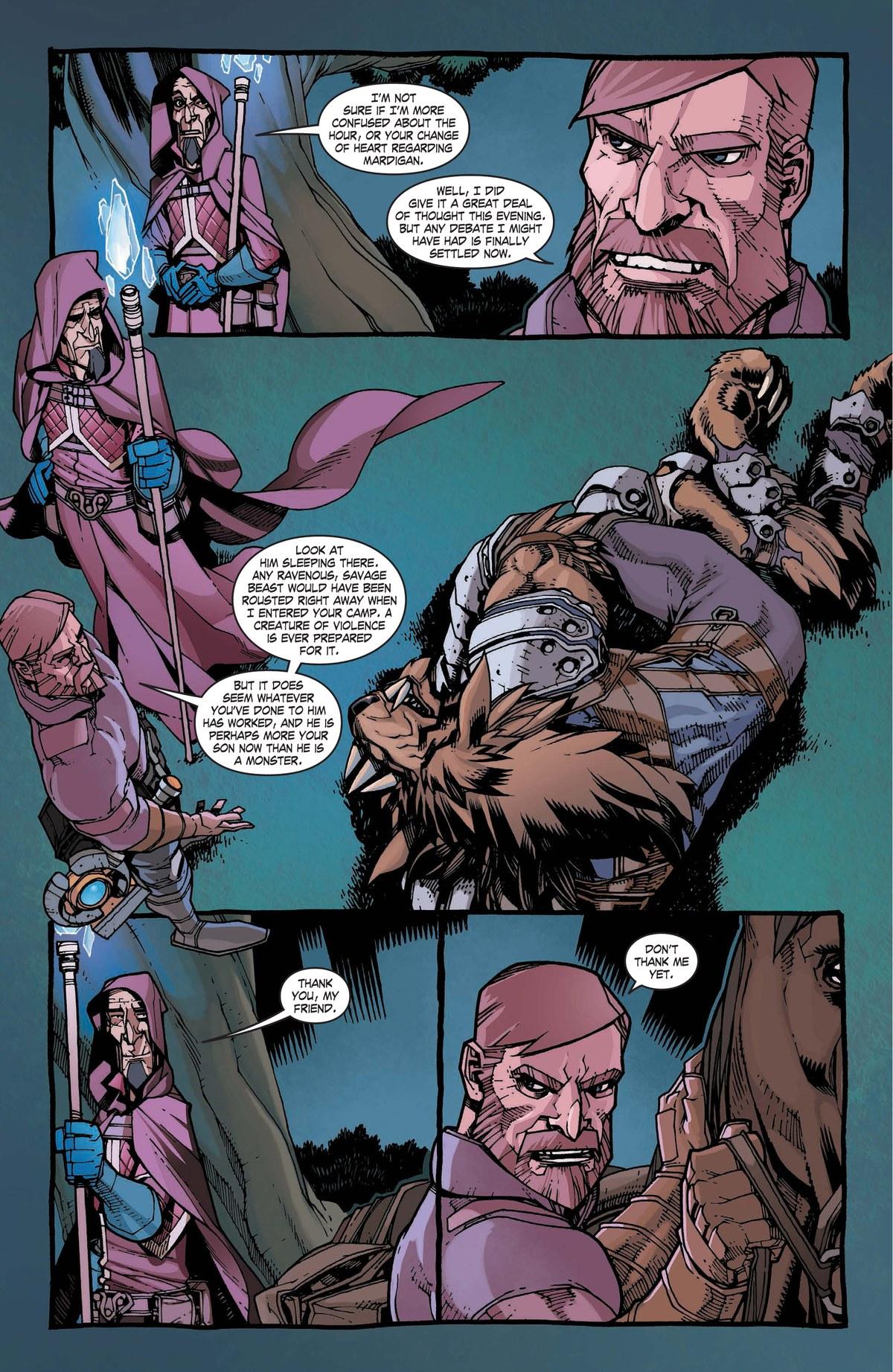 Read online World of Warcraft: Dark Riders comic -  Issue # Full - 93