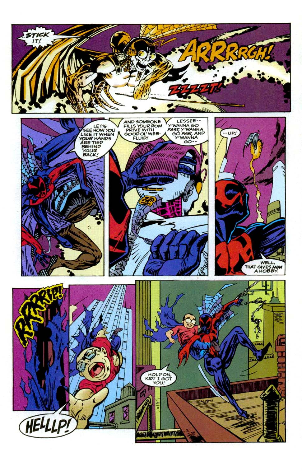 Read online 2099 Unlimited comic -  Issue #9 - 22