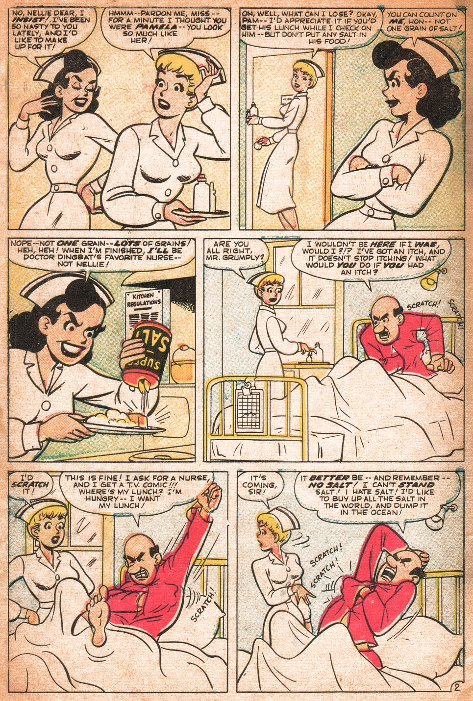 Read online Nellie The Nurse (1957) comic -  Issue # Full - 7