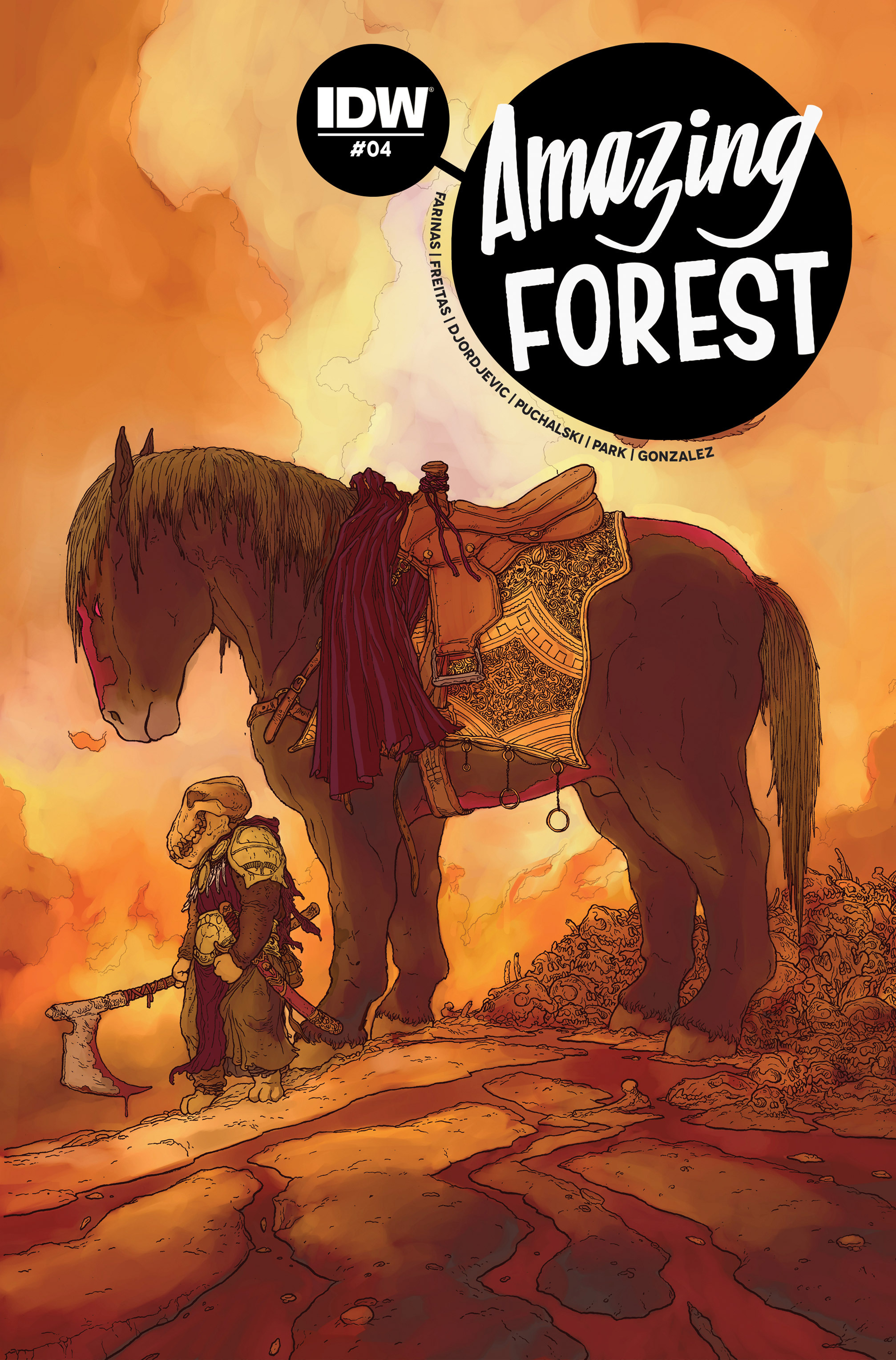 Read online Amazing Forest (2016) comic -  Issue #4 - 1