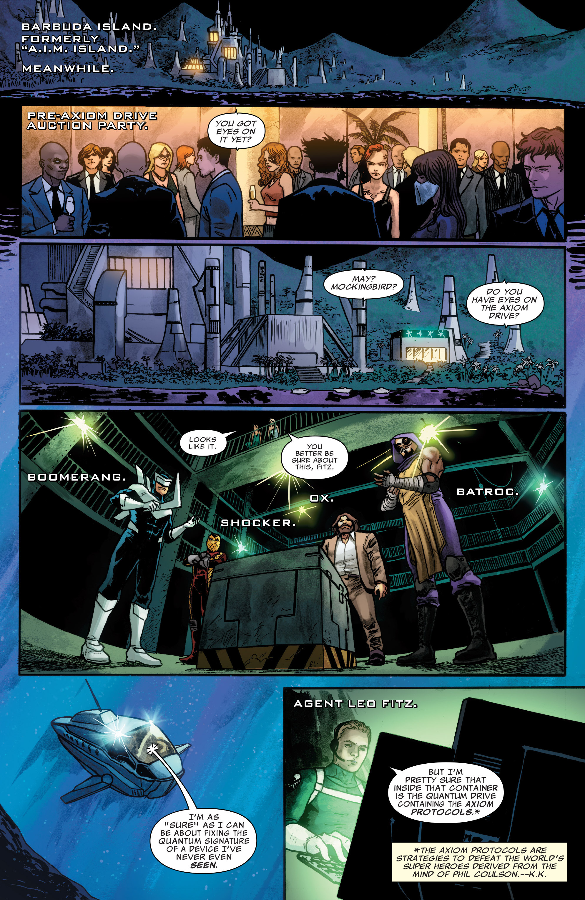 Read online Agents of S.H.I.E.L.D. comic -  Issue #4 - 12