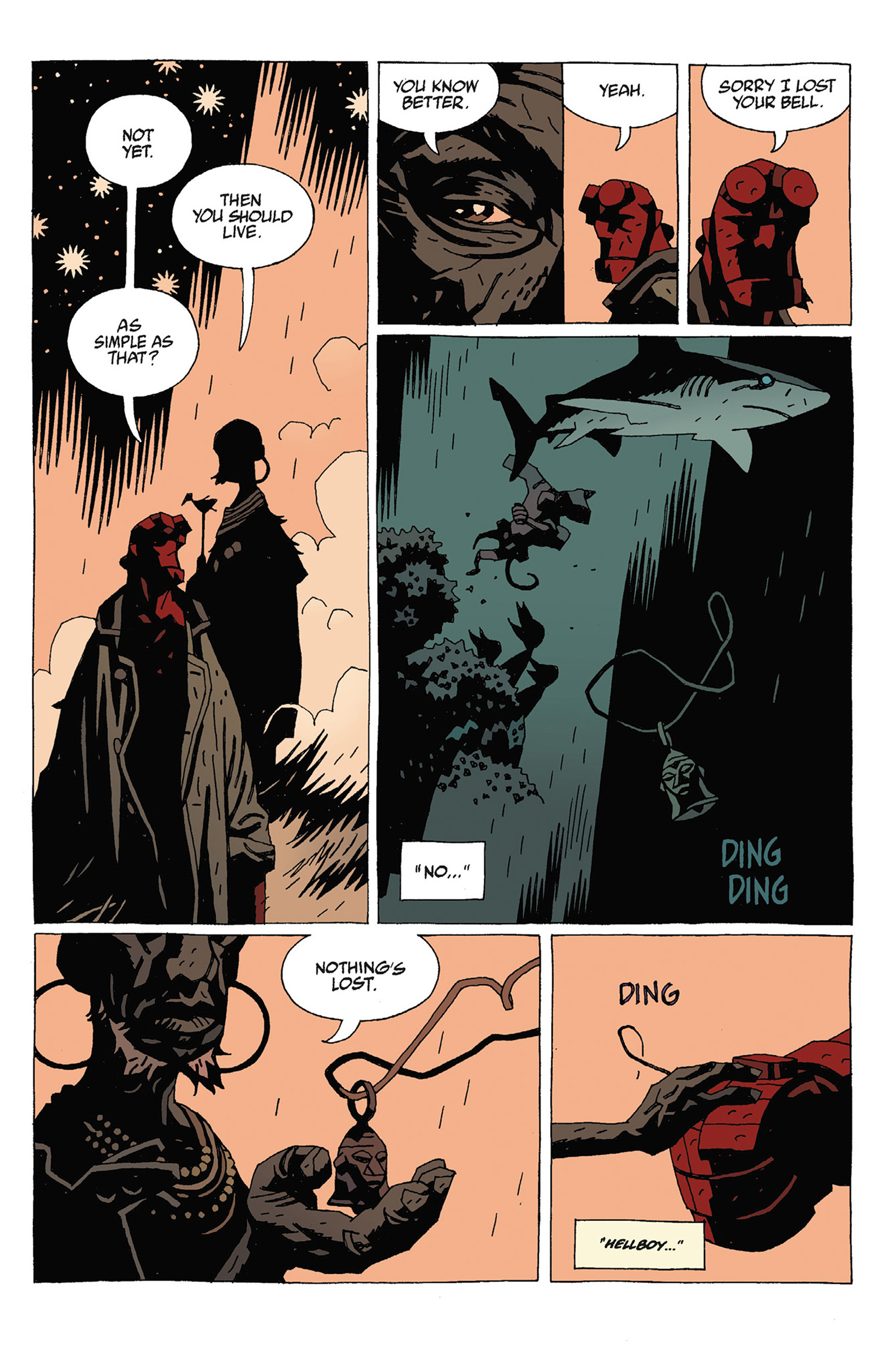 Read online Hellboy: Strange Places comic -  Issue # TPB - 97