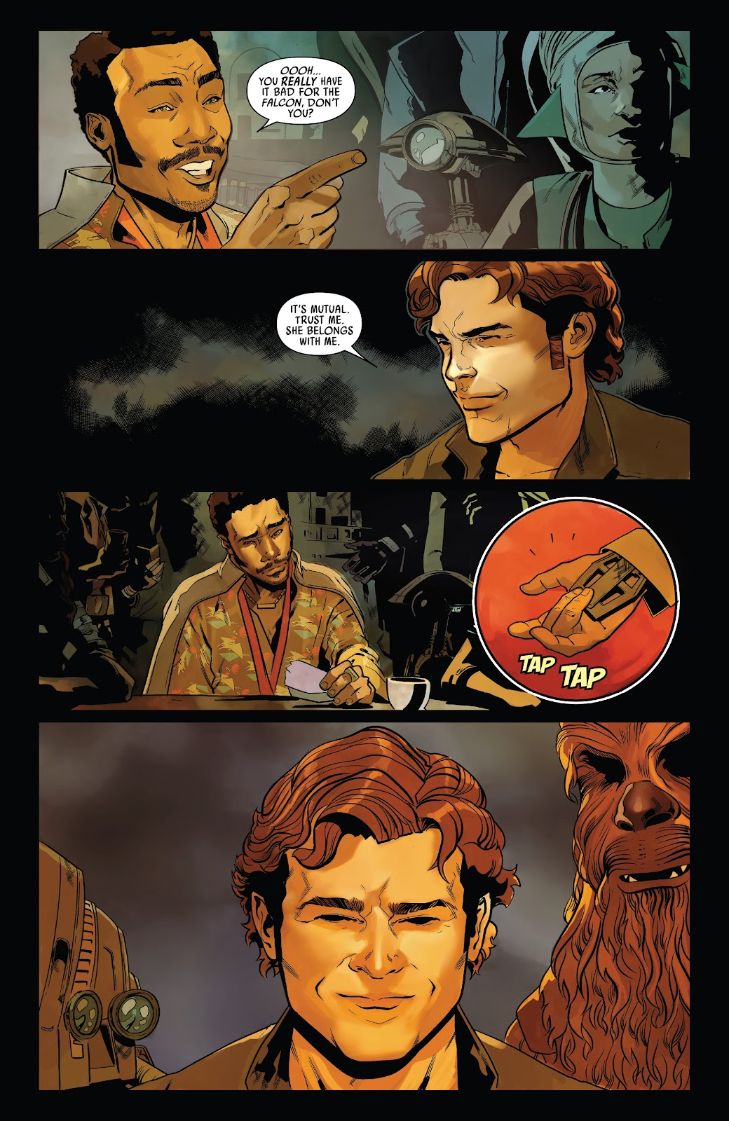 Read online Solo: A Star Wars Story Adaptation comic -  Issue #7 - 20