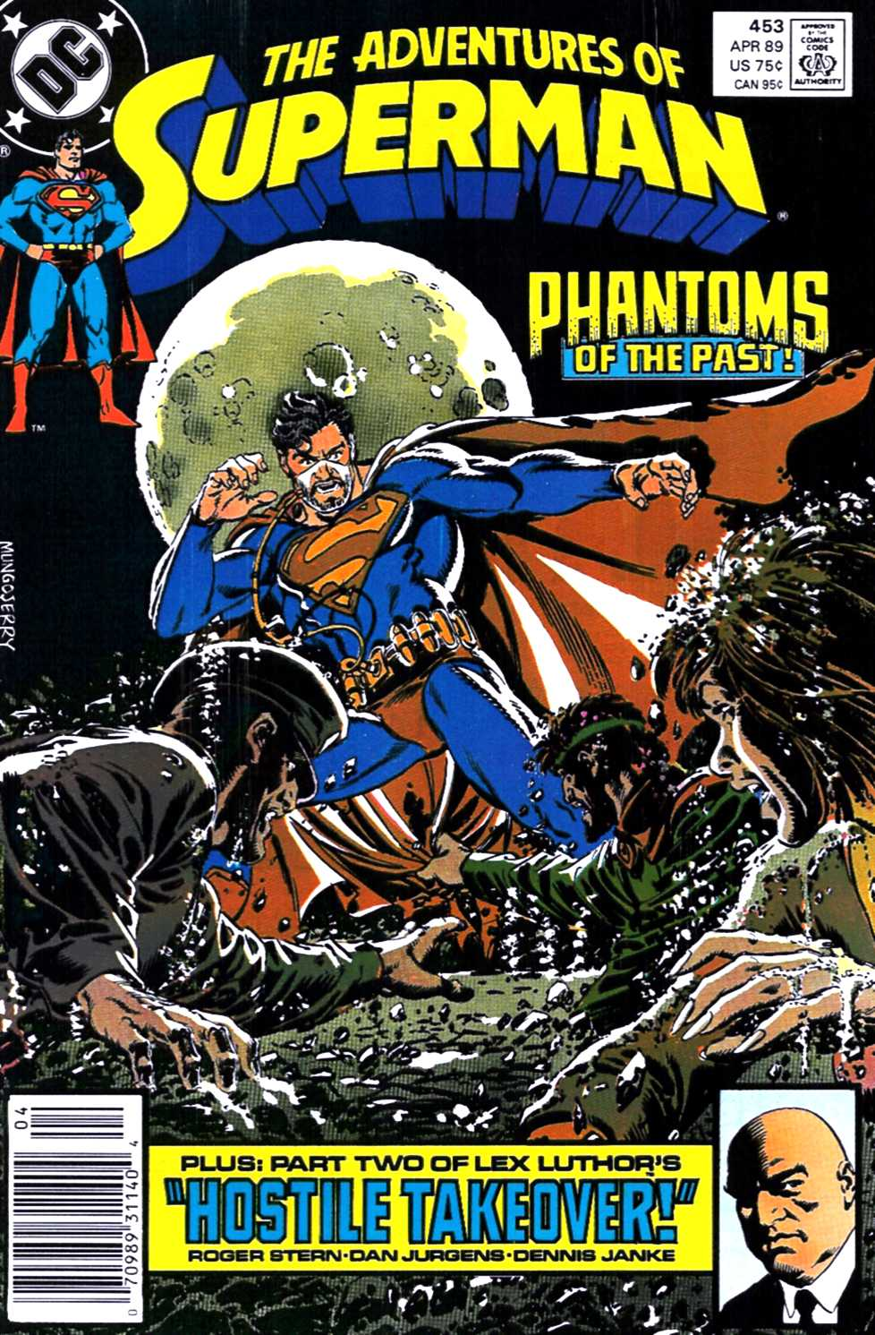 Read online Adventures of Superman (1987) comic -  Issue #453 - 1